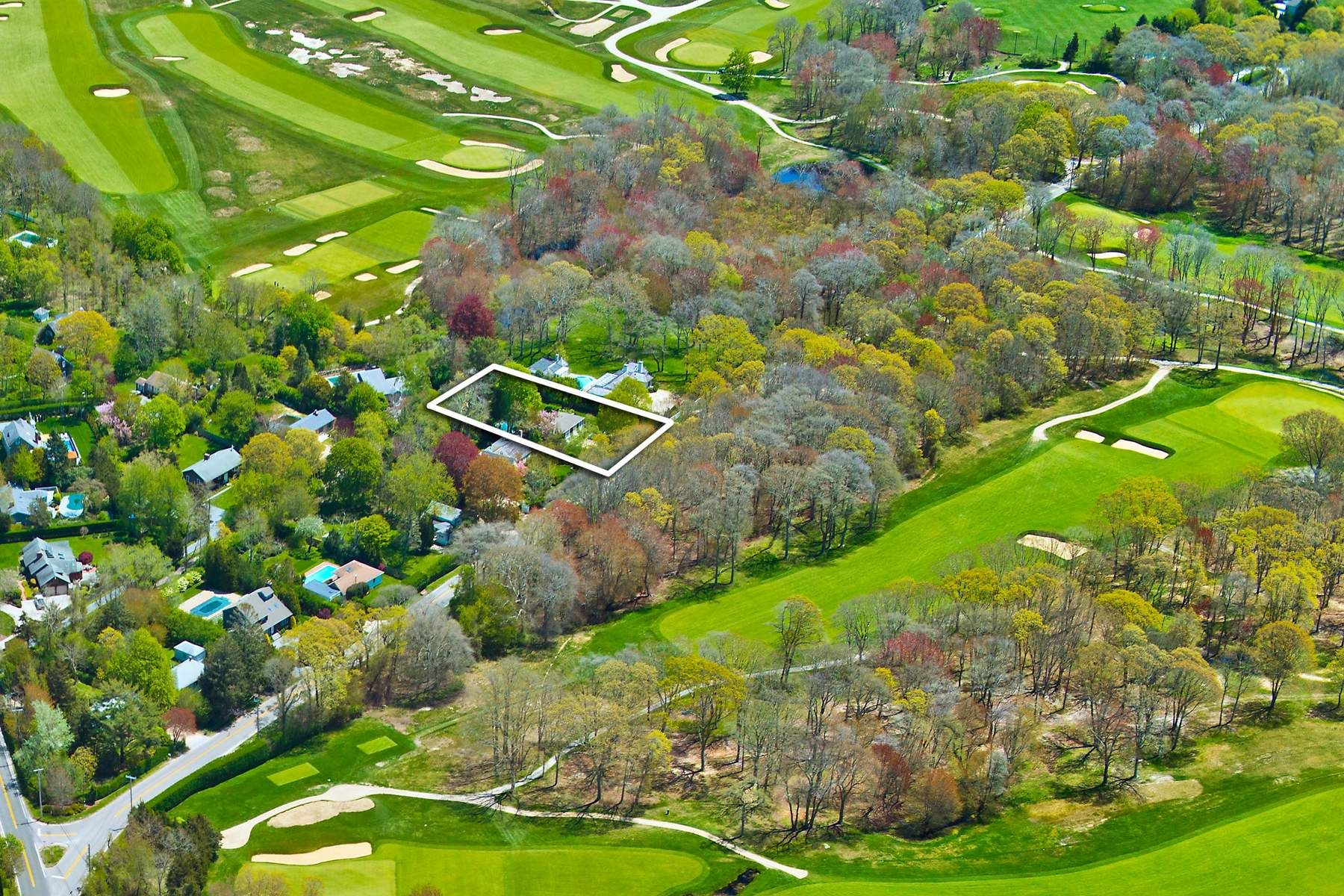 Single Family Home for Sale at Private Location with an Updated Home Southampton, New York, 11968 United States