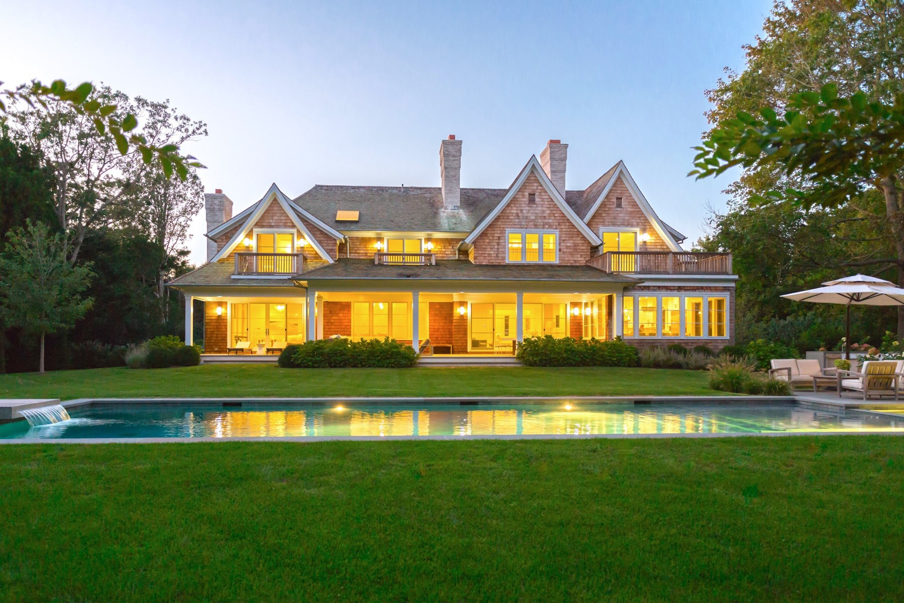 Casa Unifamiliar por un Venta en Georgica Designer's Own New Construction 200 Georgica Road East Hampton, Nueva York, 11937 Estados Unidos