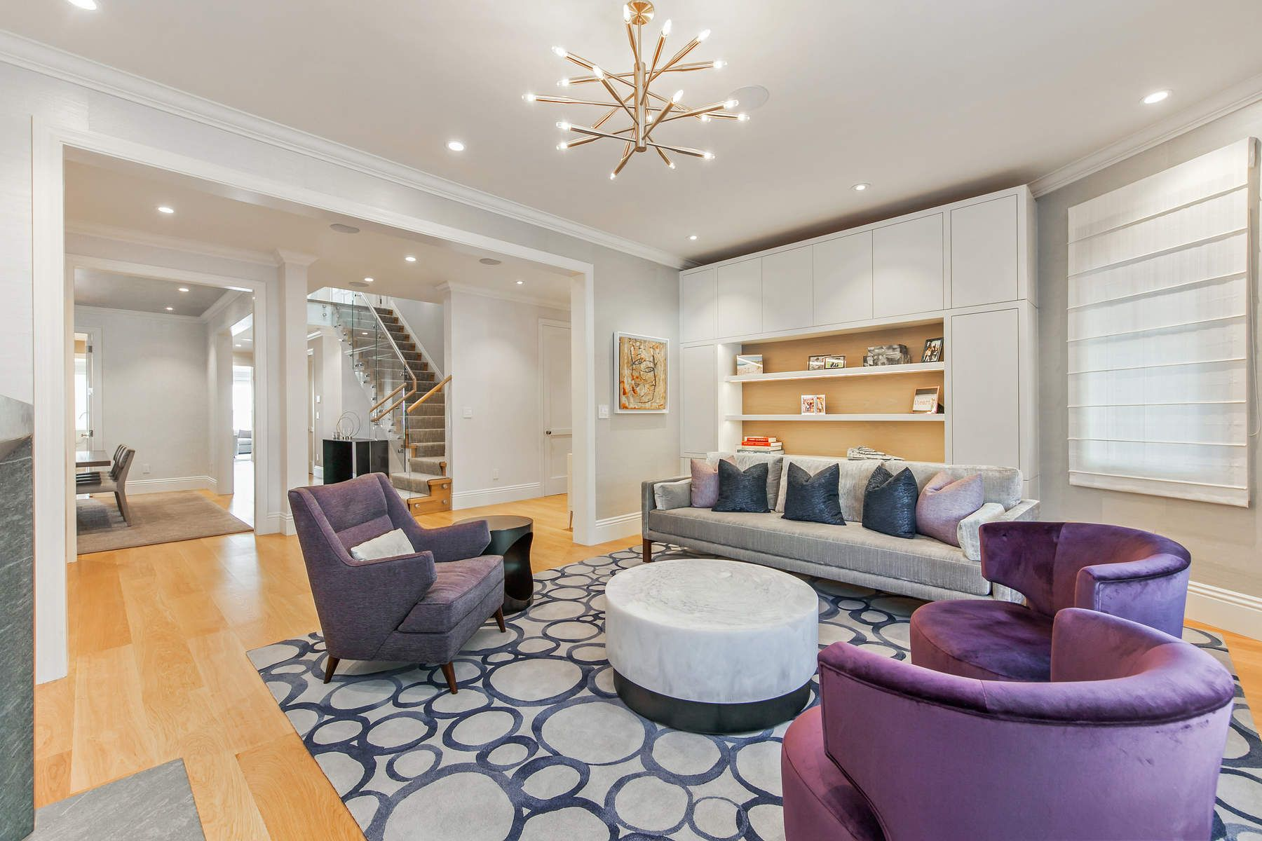 Single Family Home for Sale at Exquisite Presidio Heights Home San Francisco, California 94118 United States