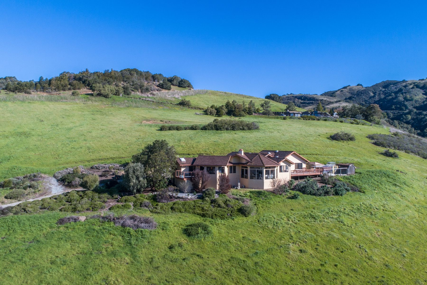 Single Family Homes for Sale at Stunning Views, Private 10 Acres 3 Oak Meadow Lane Carmel Valley, California 93924 United States
