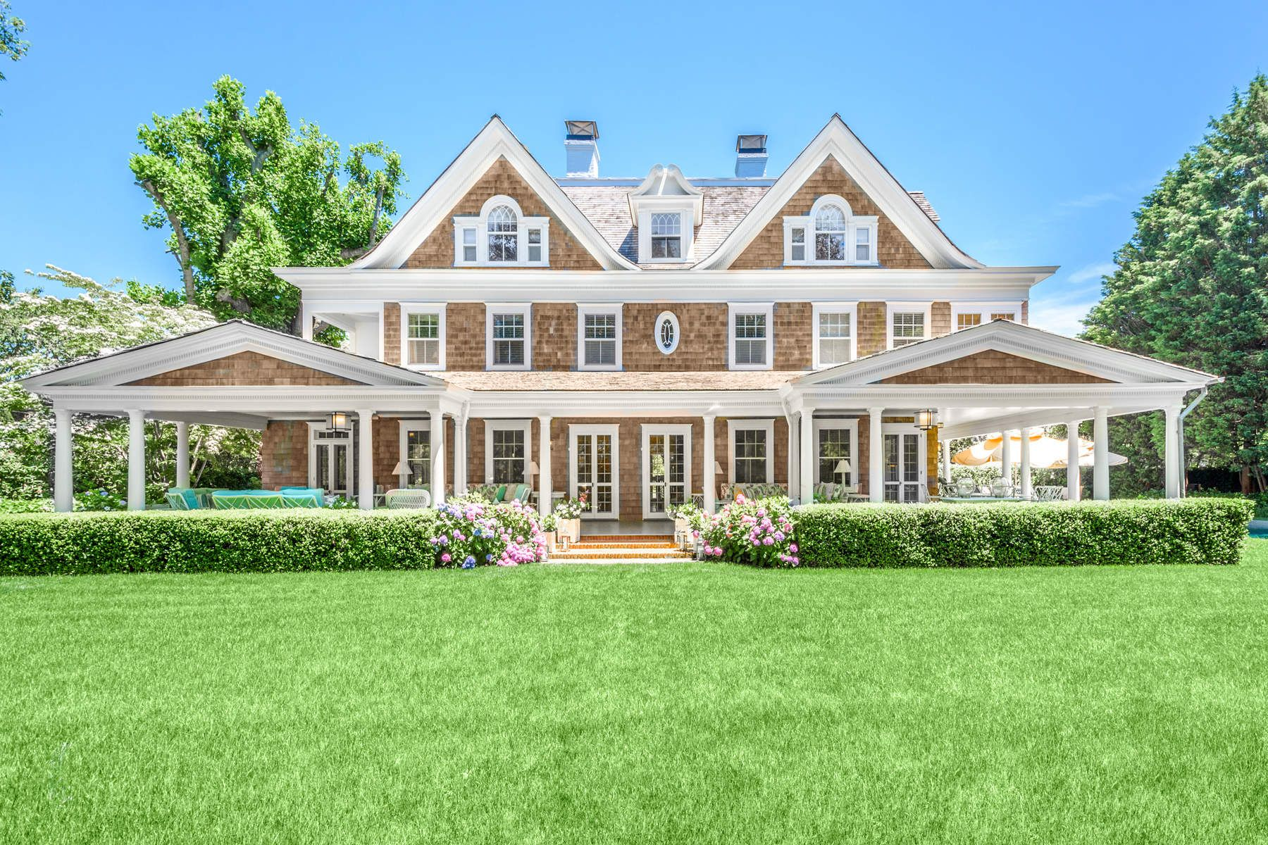 Single Family Home for Rent at Iconic Southampton Village Estate Southampton, New York 11968 United States