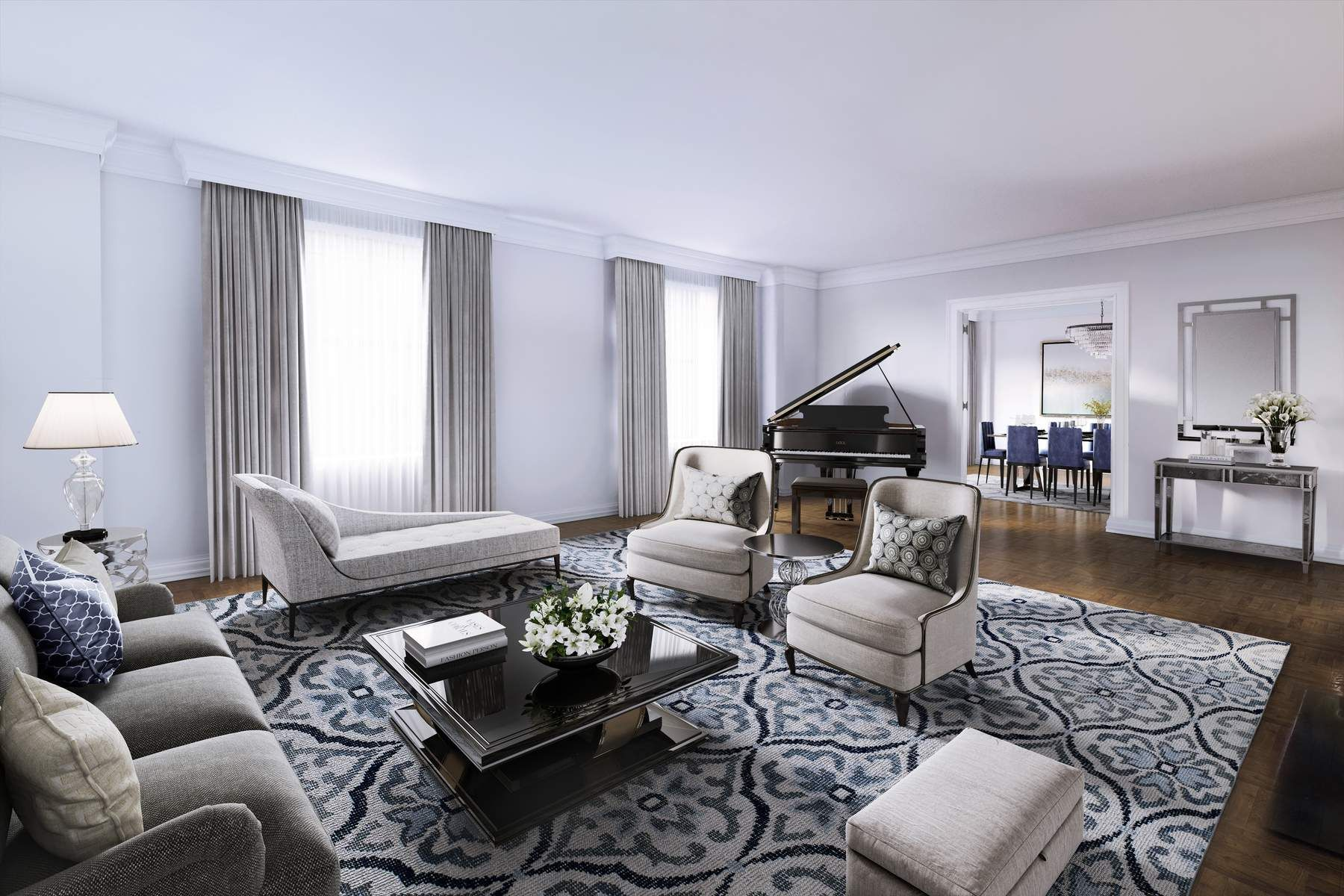 Cooperativa para Venda às 149 East 73rd Street Apt 5A Upper East Side, New York, Nova York, 10021 Estados Unidos