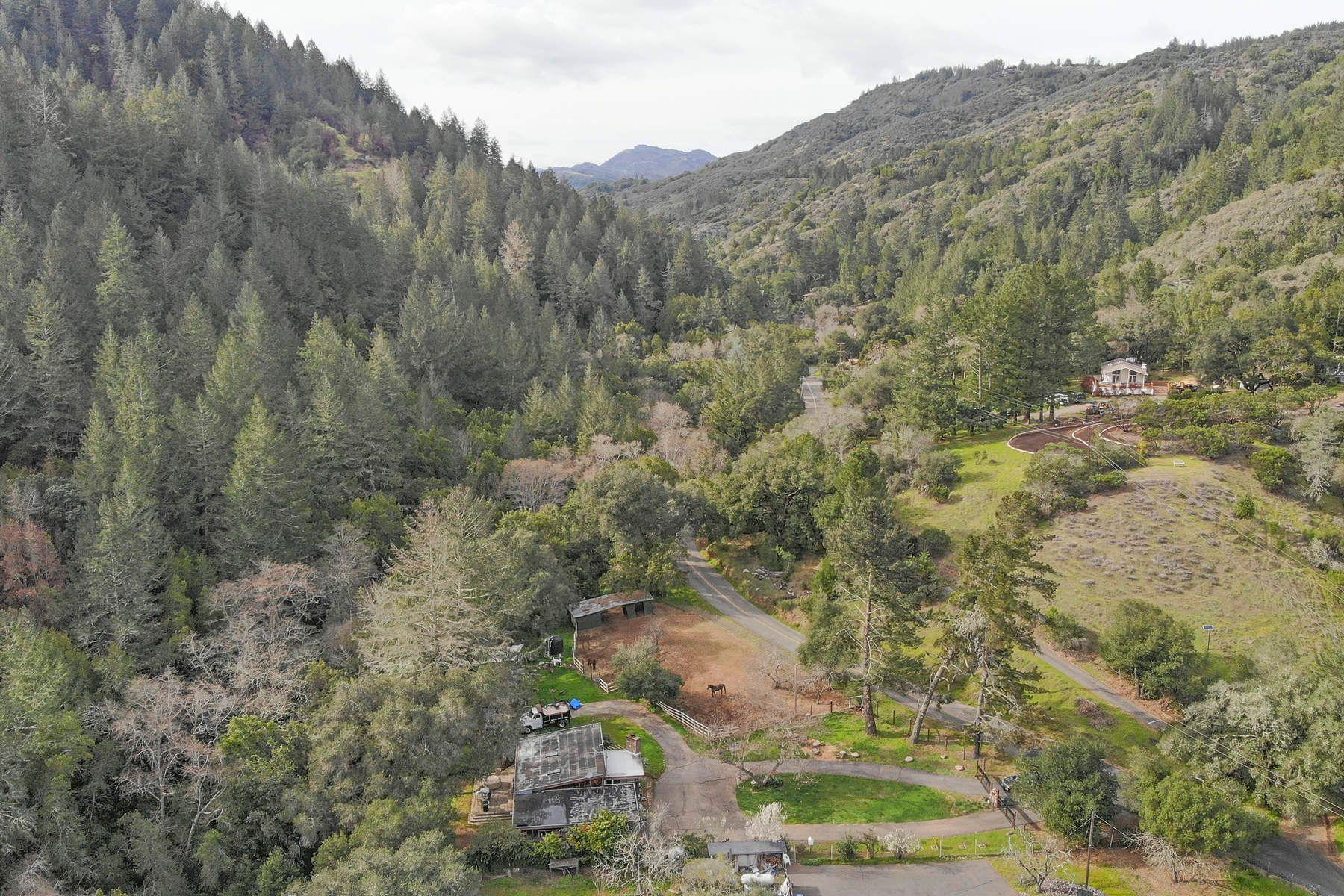 Casa para uma família para Venda às 18 Acres On Dry Creek Road, Napa 5271 Dry Creek Rd, Napa, Califórnia, 94558 Estados Unidos