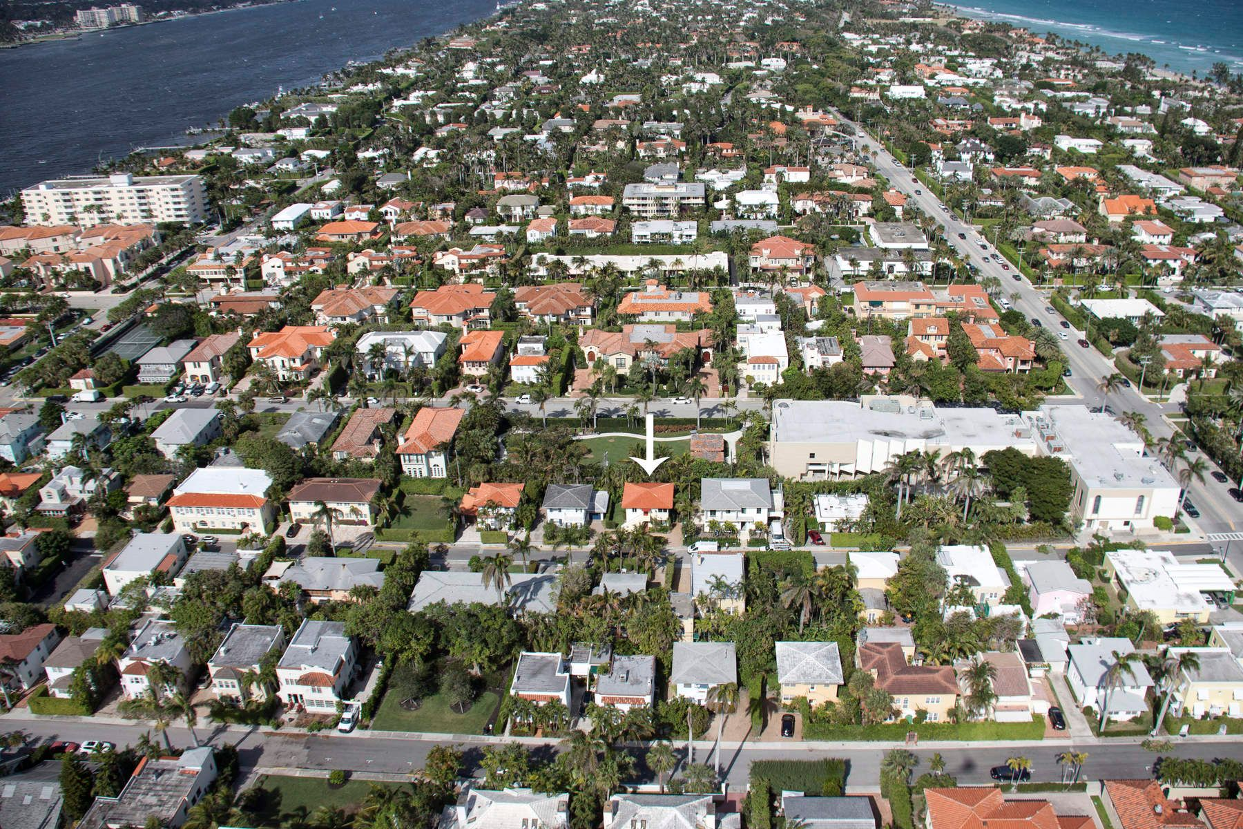 Single Family Home for Sale at Lovely Two Family Home 227 Oleander Ave, Palm Beach, Florida, 33480 United States