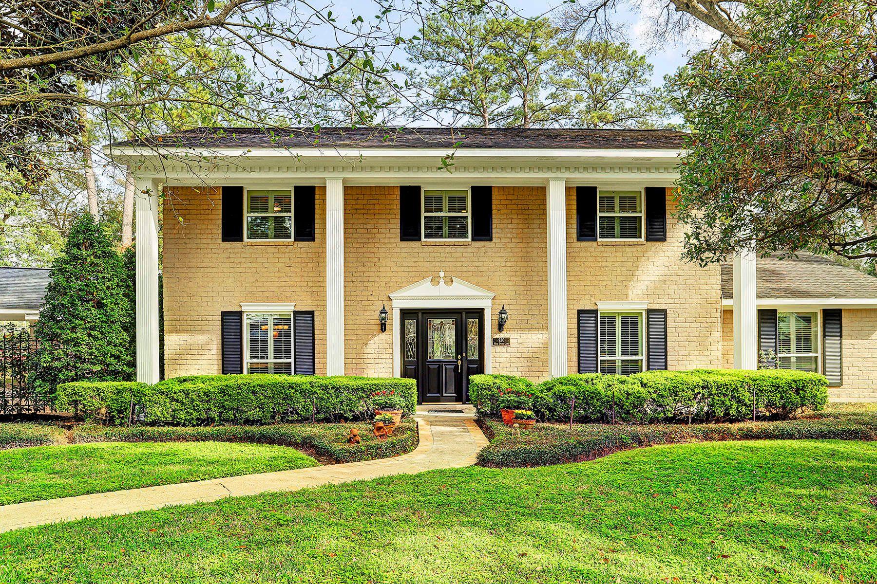 一戸建て のために 売買 アット 930 Moss Spring Lane Hedwig Village, テキサス, 77024 アメリカ合衆国