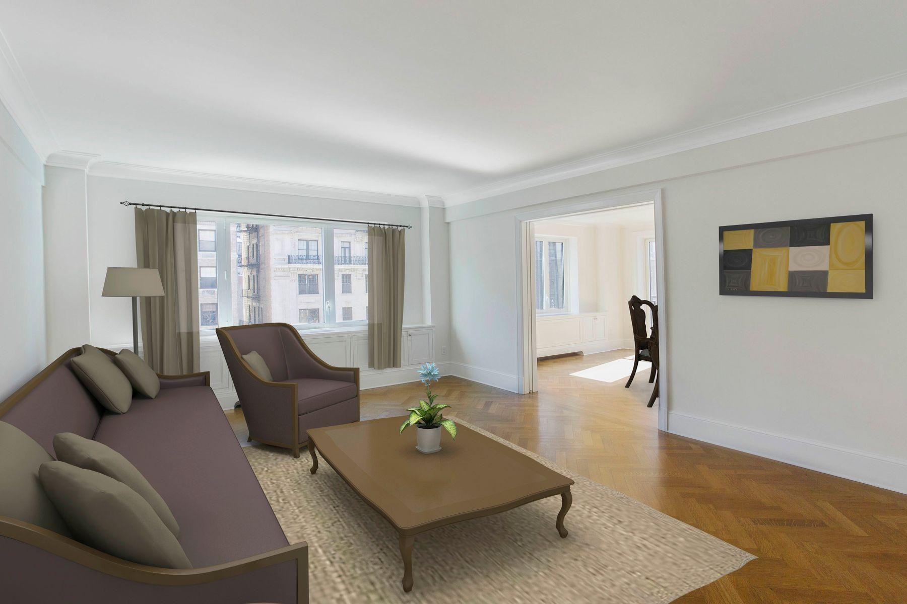 Кондоминиум для того Аренда на 530 Park Avenue, 12A 530 Park Avenue 12A, New York, Нью-Йорк 10065 Соединенные Штаты