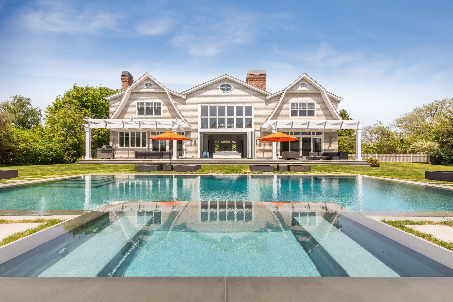 Single Family Home for Rent at PRIVATE SOUTHAMPTON VILLAGE ESTATE 82 Pheasant Close North Southampton, New York 11968 United States