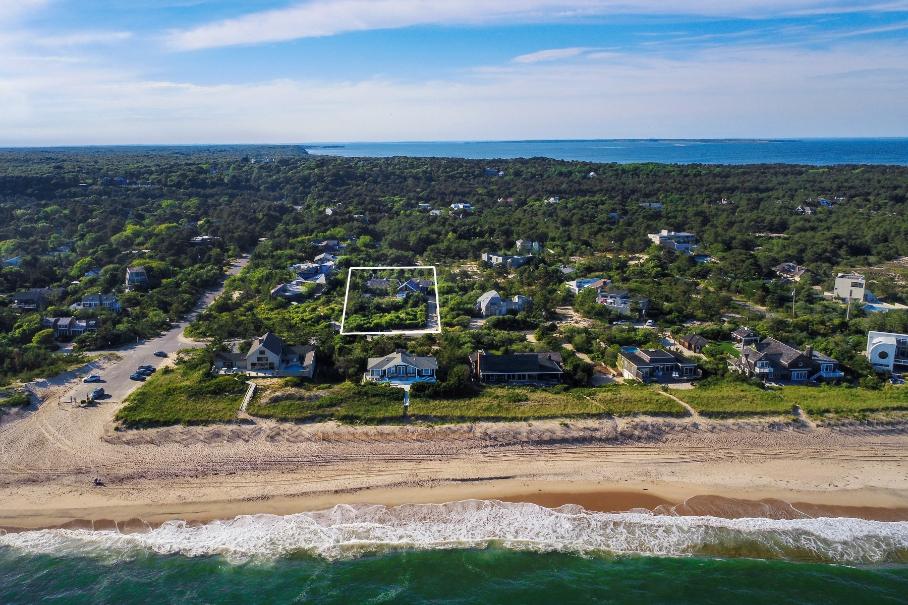 獨棟家庭住宅 為 出售 在 Dunes Beach House Walk To Surf 57 Marine Boulevard, Amagansett, 紐約州, 11930 美國