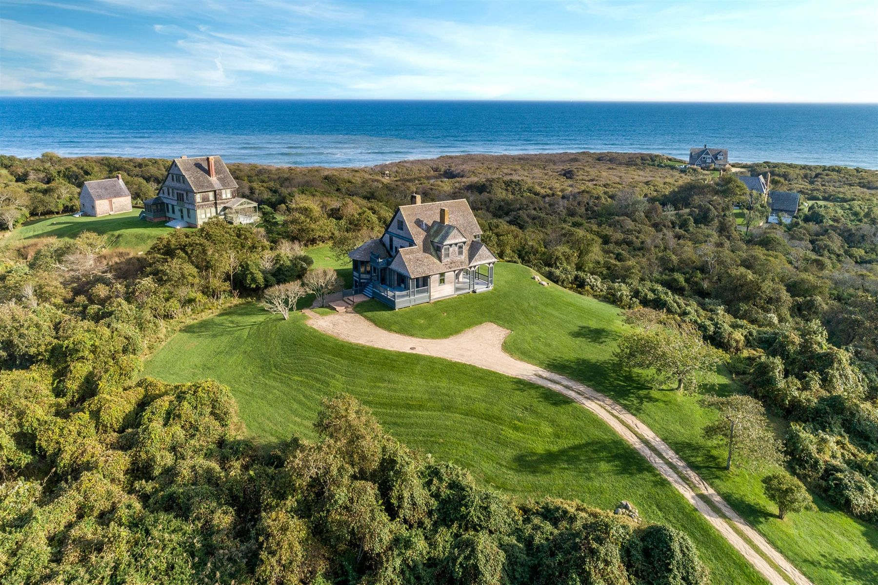 Single Family Homes for Active at Stanford White Ocean View Cottage 153 Deforest Road Montauk, New York 11954 United States