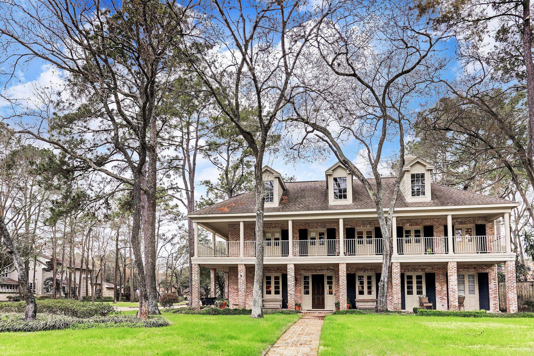 Частный односемейный дом для того Продажа на 10 Pine Grove Circle Houston, Техас, 77024 Соединенные Штаты