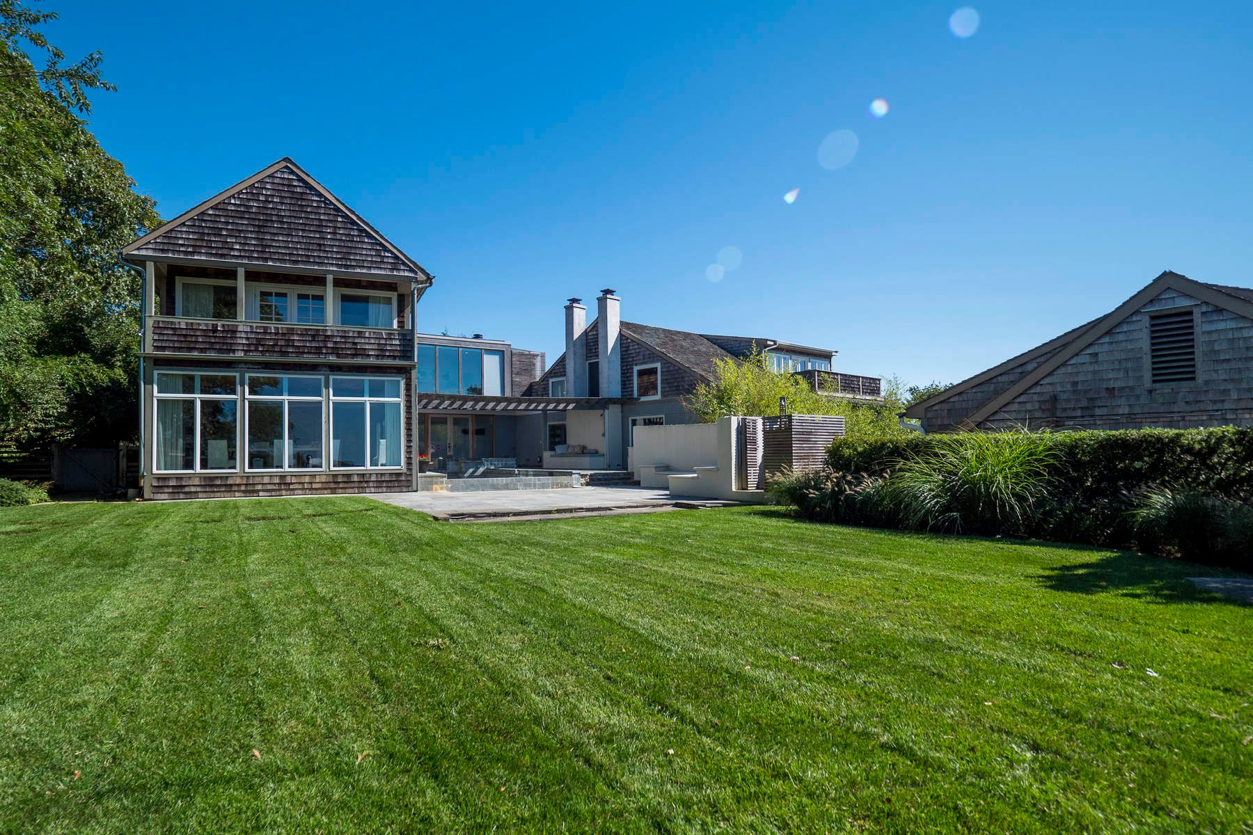 Single Family Home for Rent at POST MODERN BARN, INFINITY POOL Sagaponack, New York 11962 United States