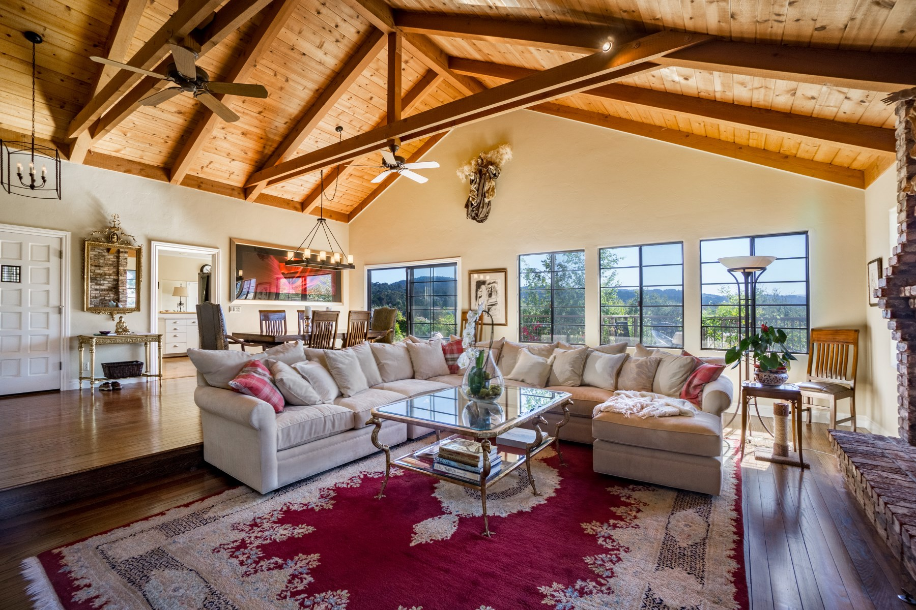 Single Family Home for Sale at Breathtaking views of Carmel Valley 26291 Mesa Place Carmel, California, 93923 United States
