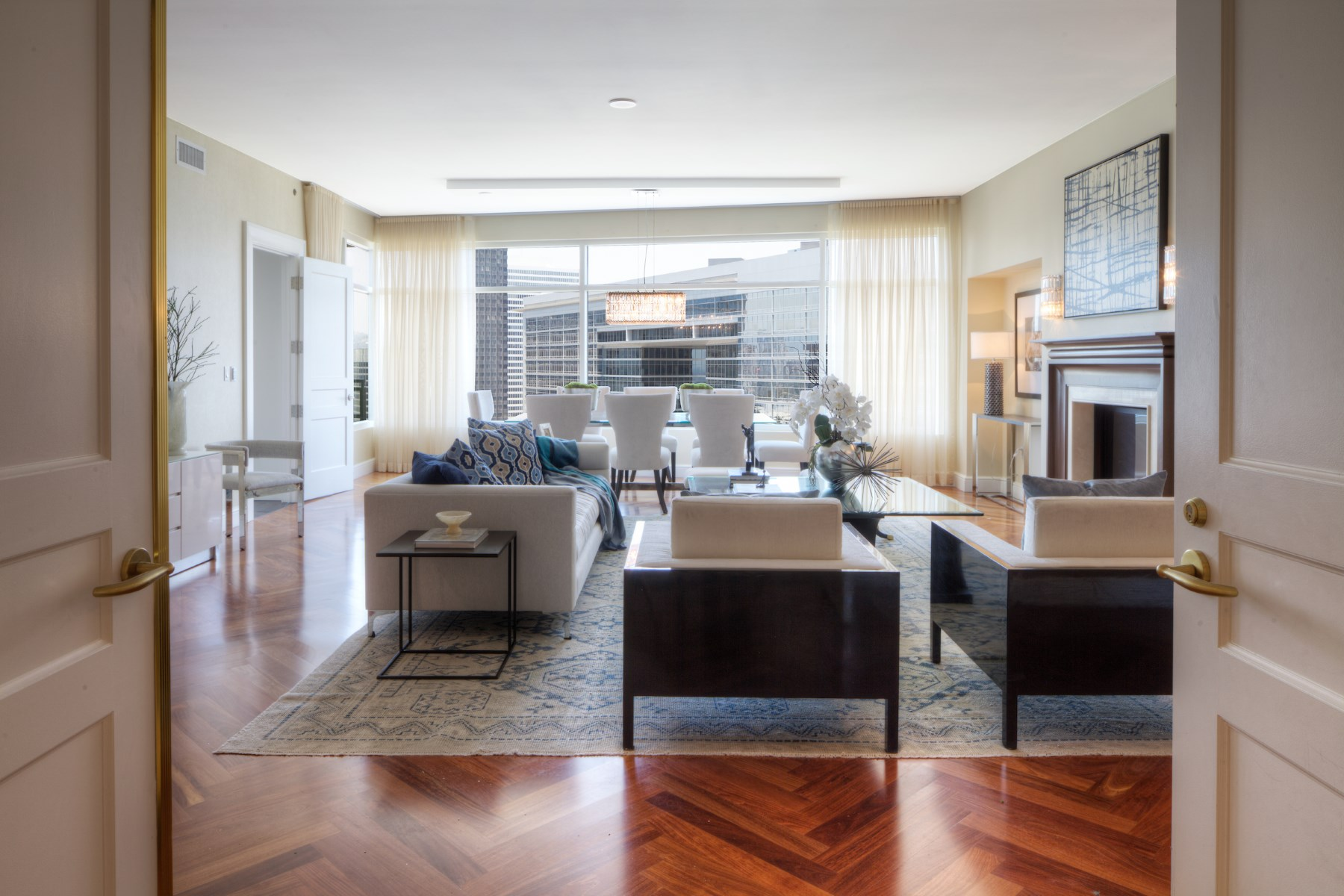 Condominium for Sale at Stylish 3-Bedroom Condo in The Century 1 West Century Drive Unit #11C Los Angeles, California 90067 United States