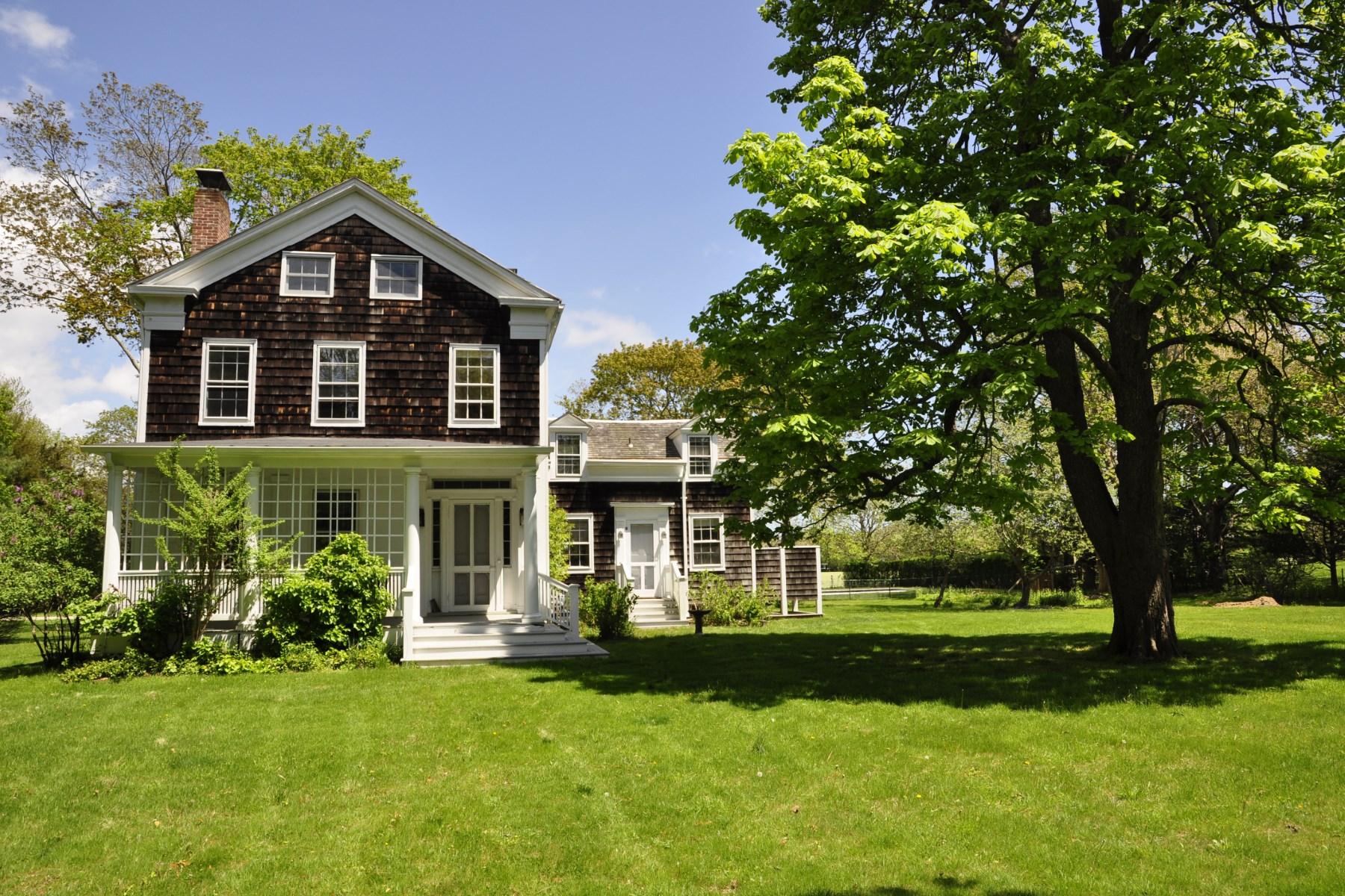 Single Family Home for Rent at Steps from Transportation 131 Butter Lane Bridgehampton, New York 11932 United States