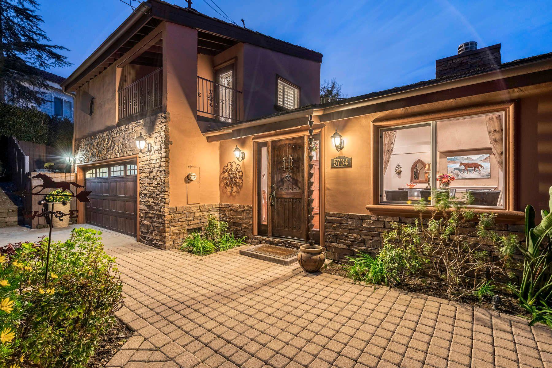 Casa Unifamiliar por un Venta en Tuscan View Property in Old Agoura 5734 Fairview Place Agoura Hills, California 91301 Estados Unidos