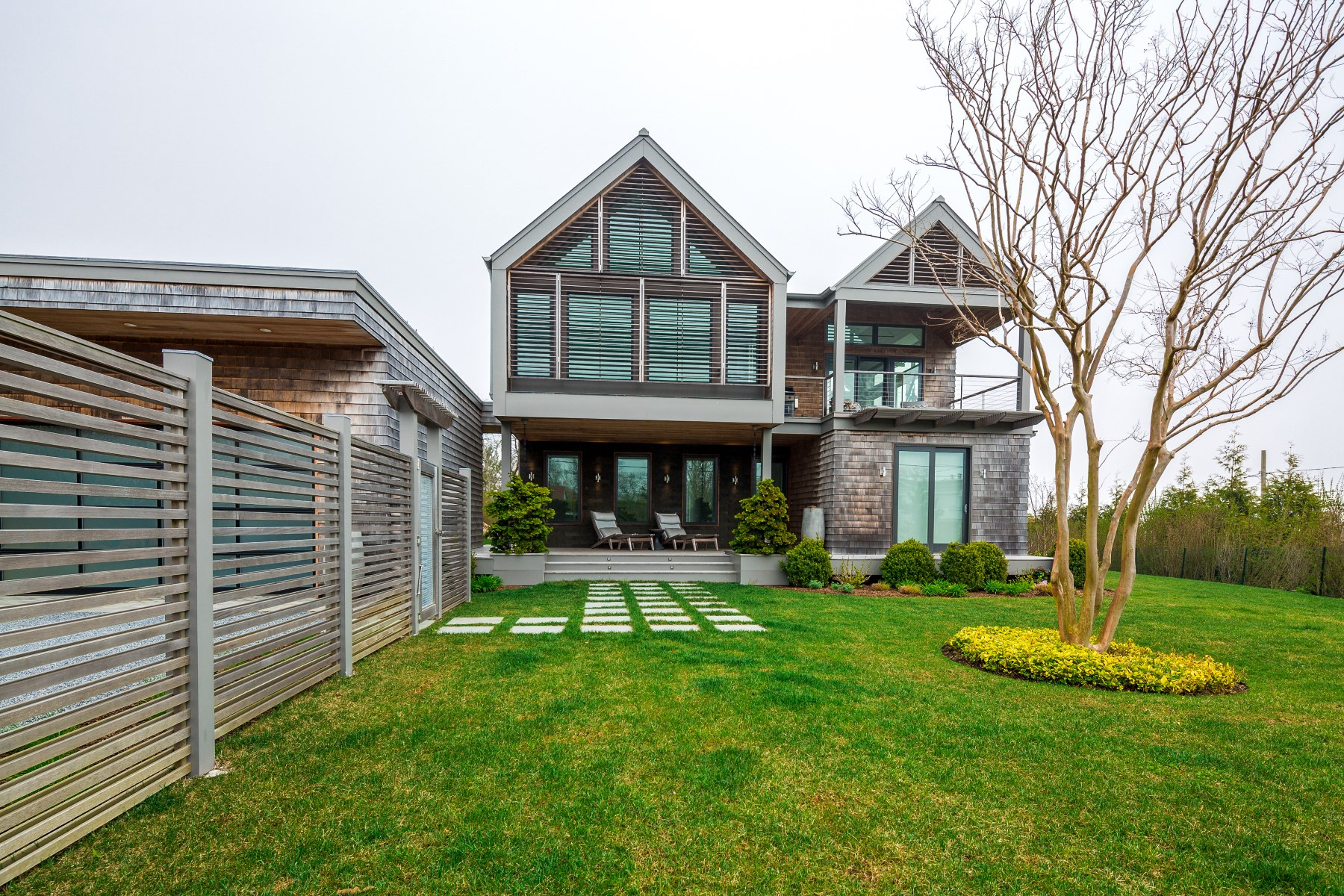 Single Family Home for Rent at Modern Montauk Masterpiece Ocean Views 79 Monroe Drive Montauk, New York 11954 United States