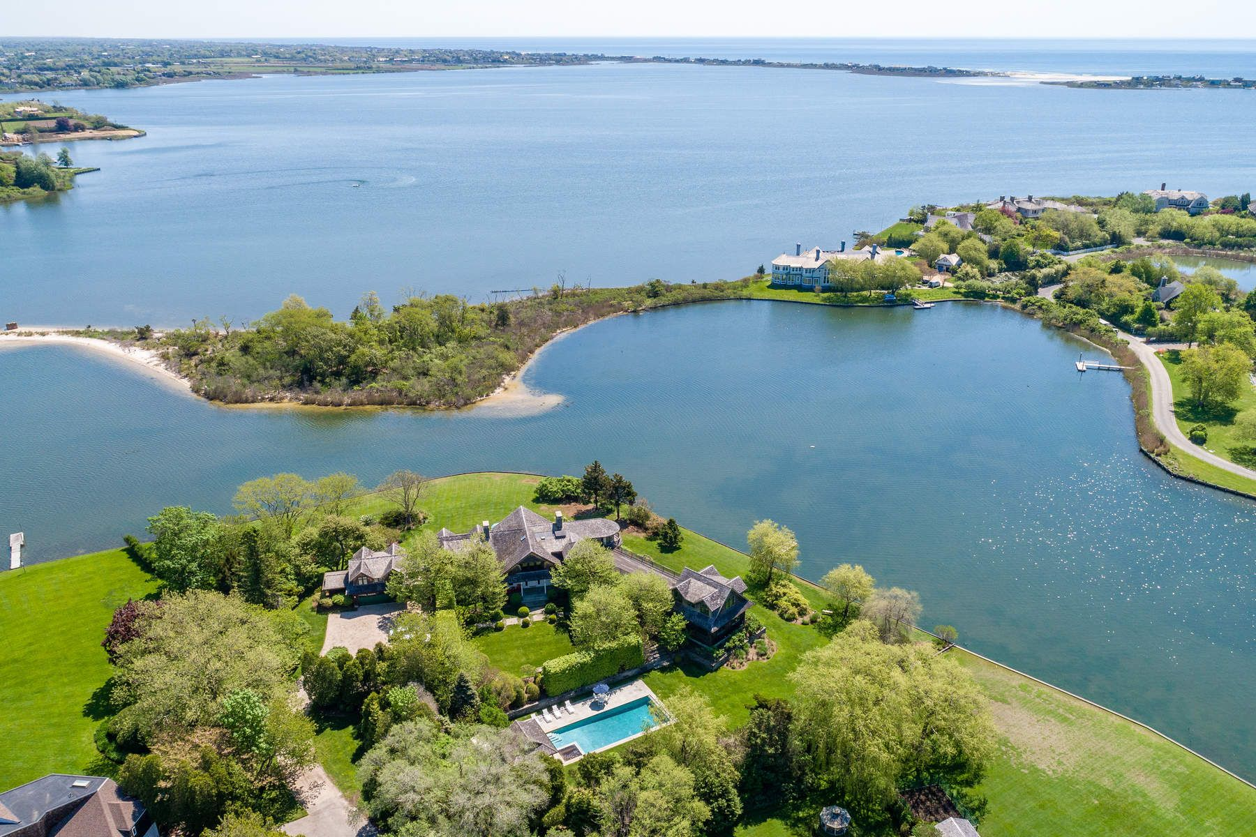 Property for Sale at WATER MILL ESTATE AREA WATERFRONT 64 Holly Lane Water Mill, New York 11976 United States