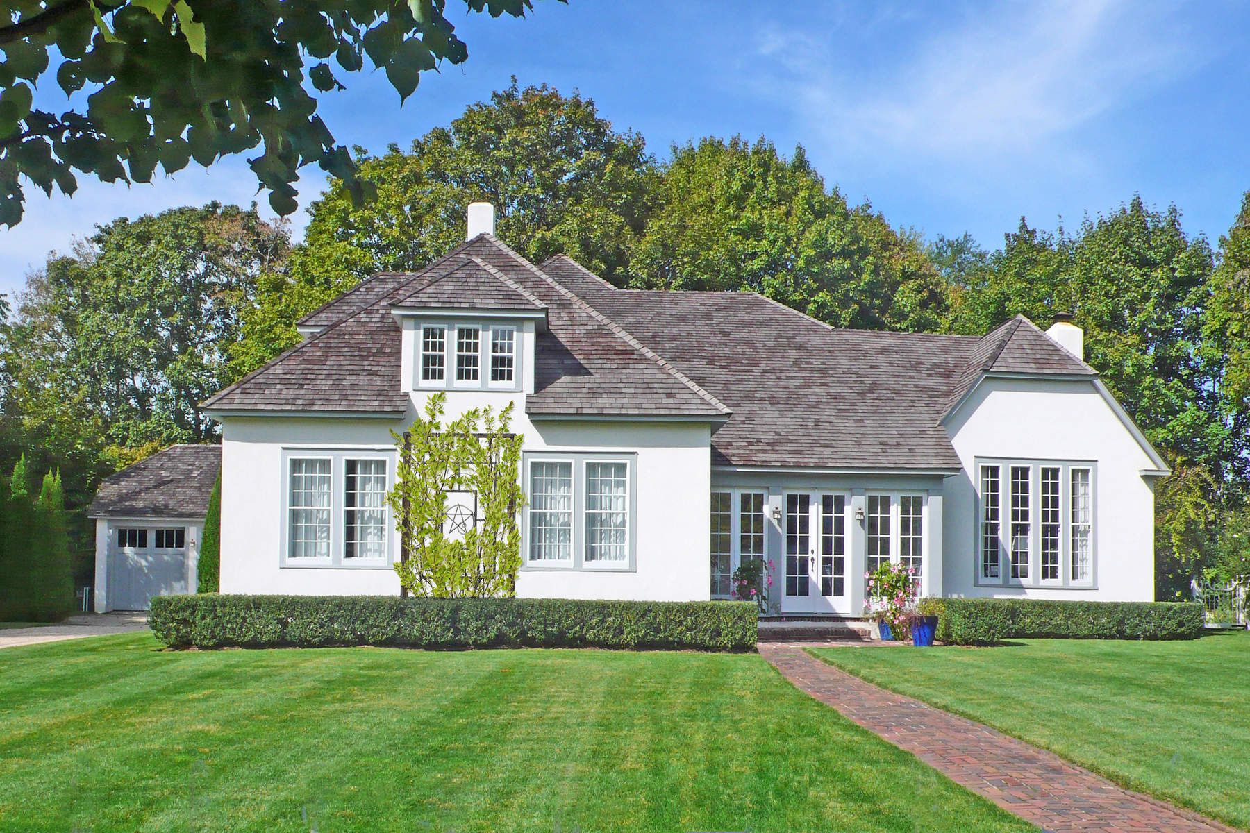 Single Family Home for Rent at Iconic Main Street Residence 208 Main Street Sag Harbor, New York 11963 United States