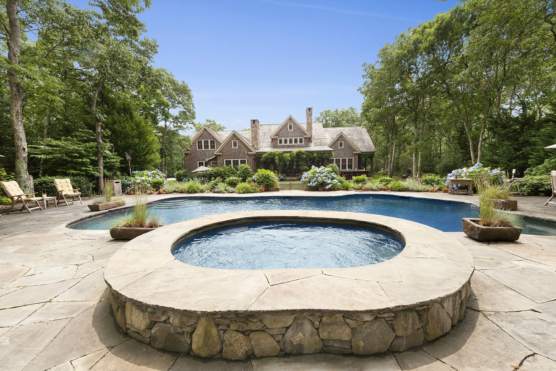 Single Family Home for Sale at Sagaponack Gated Country Style Estate Sagaponack, New York, 11962 United States