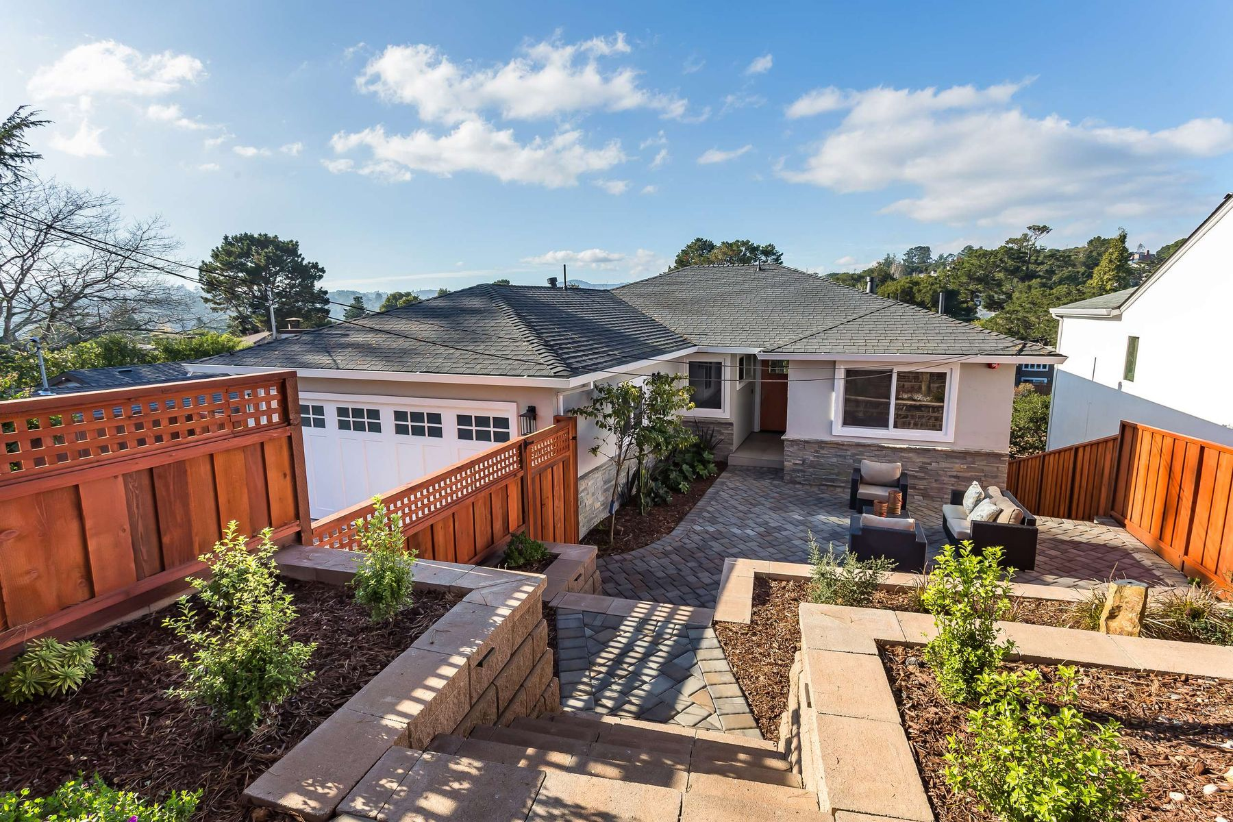 Single Family Home for Active at Luxuriously Renovated Belmont Home 2514 Carmelita Ave Belmont, California 94002 United States