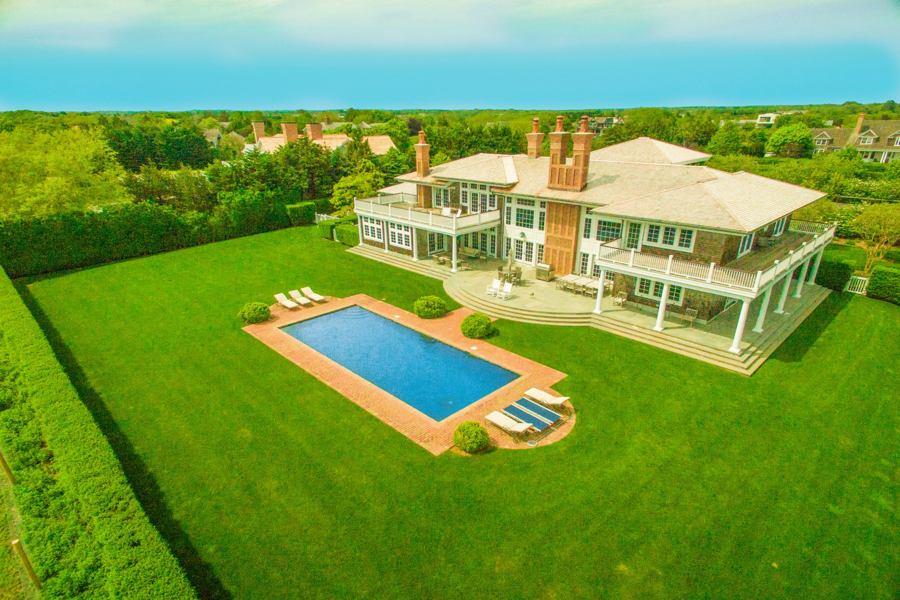 Single Family Home for Rent at Sagaponack Ocean Views 19 Sagg Pond Sagaponack, New York 11962 United States