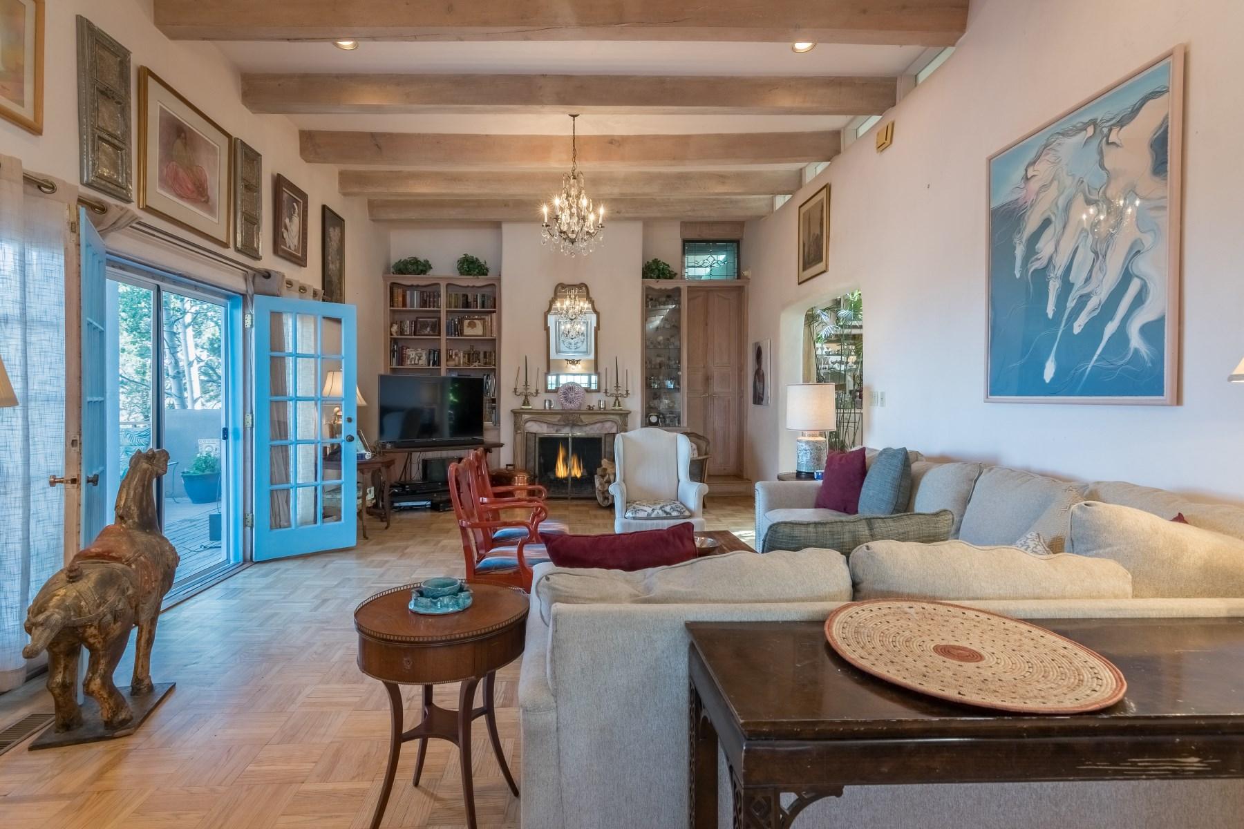 단독 가정 주택 용 매매 에 145 Brownell Howland Rd Santa Fe City Northeast, Santa Fe, 뉴멕시코, 87501 미국