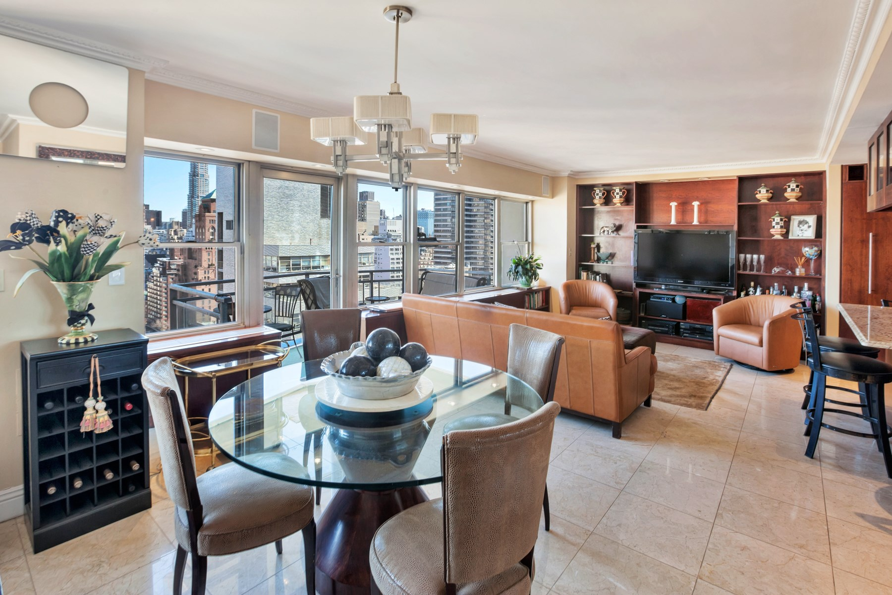Coopérative pour l Vente à 118 East 60th Street, Apt 24BC 118 East 60th Street Apt 24BC Upper East Side, New York, New York, 10022 États-Unis