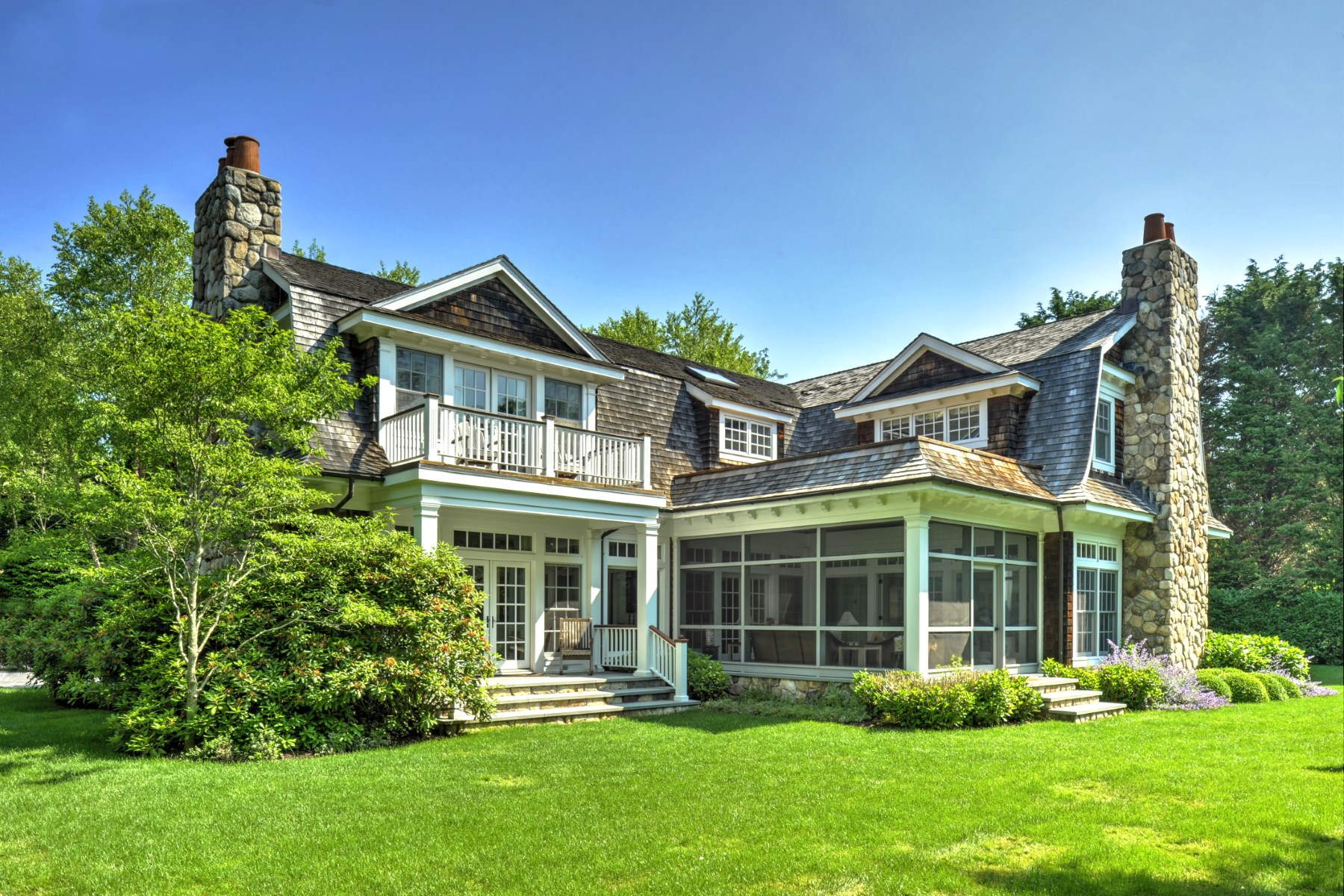 Single Family Home for Sale at Gorgeous Georgica Estate Home 11 Jericho Lane, East Hampton Village, East Hampton, New York, 11937 United States