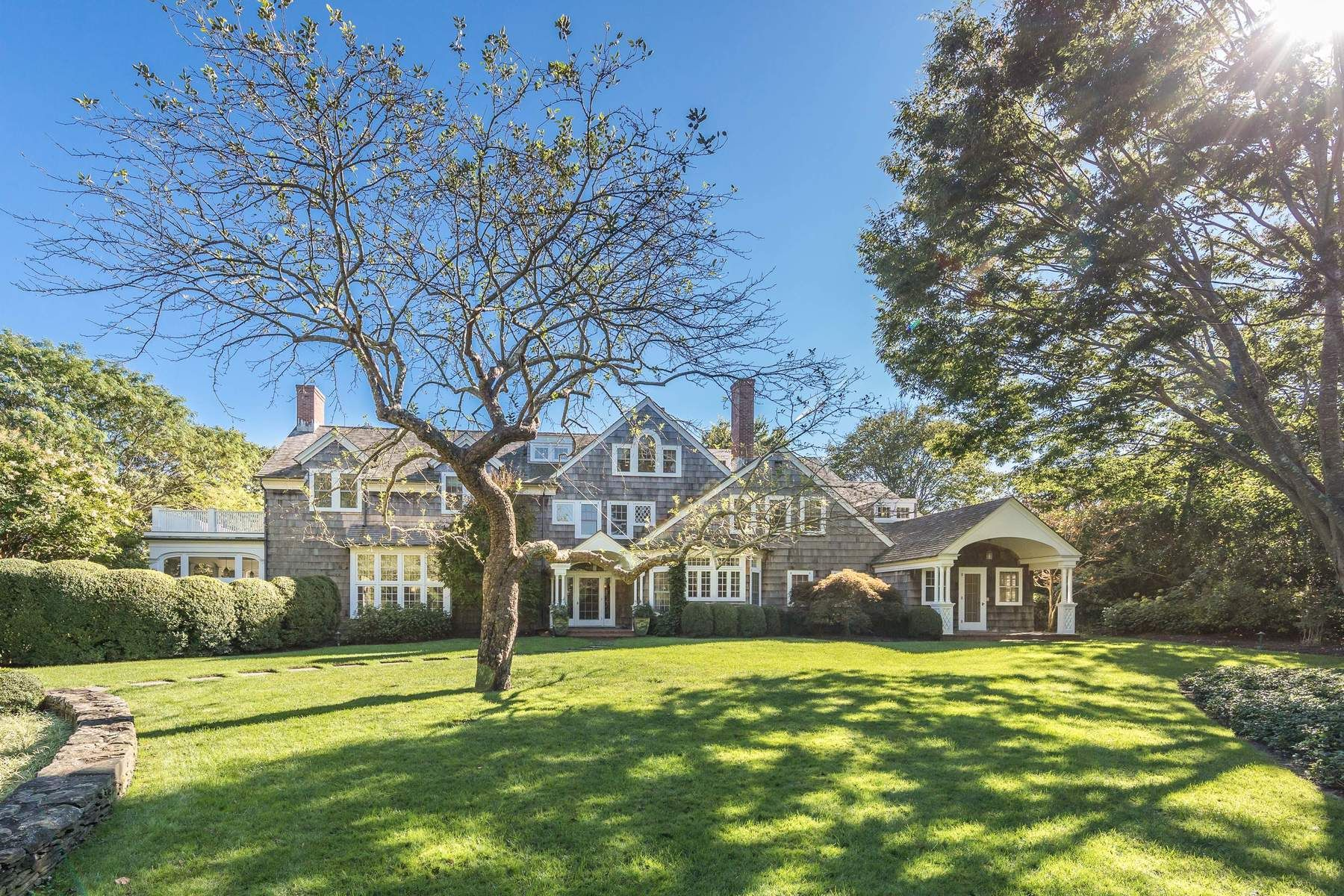Single Family Home for Sale at Prestigious Georgica Estate Compound 253 Cove Hollow Road, East Hampton, New York, 11937 United States