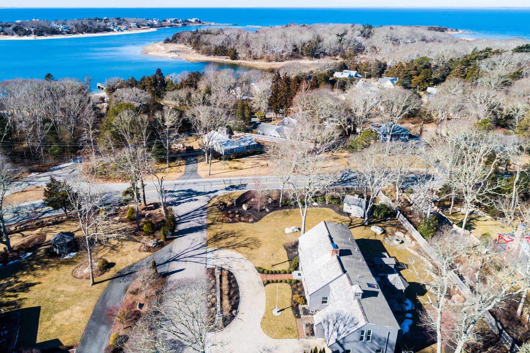 Single Family Home for Active at Classic West Falmouth Cape 4 Shapquit Bars Road West Falmouth, Massachusetts 02574 United States