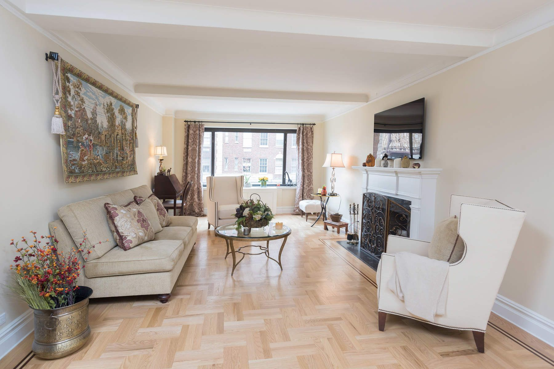 Co-op for Sale at Light-Filled Living on Sutton Pl South 2 Sutton Place South Apt 8DS, Sutton Place, New York, New York, 10022 United States