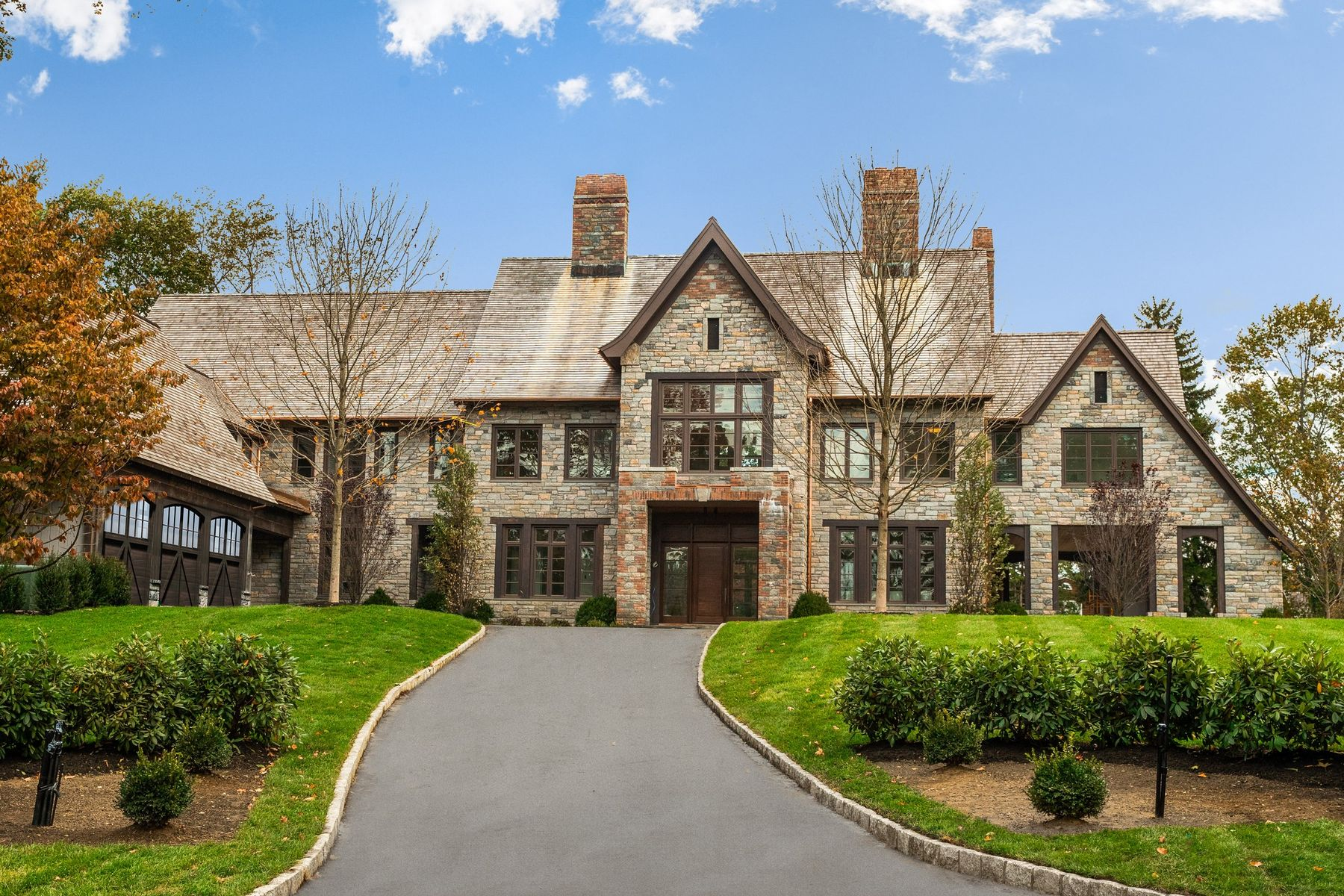 single family homes for Sale at In-Town New Construction 19 Meadow Drive, Greenwich, Connecticut 06830 United States