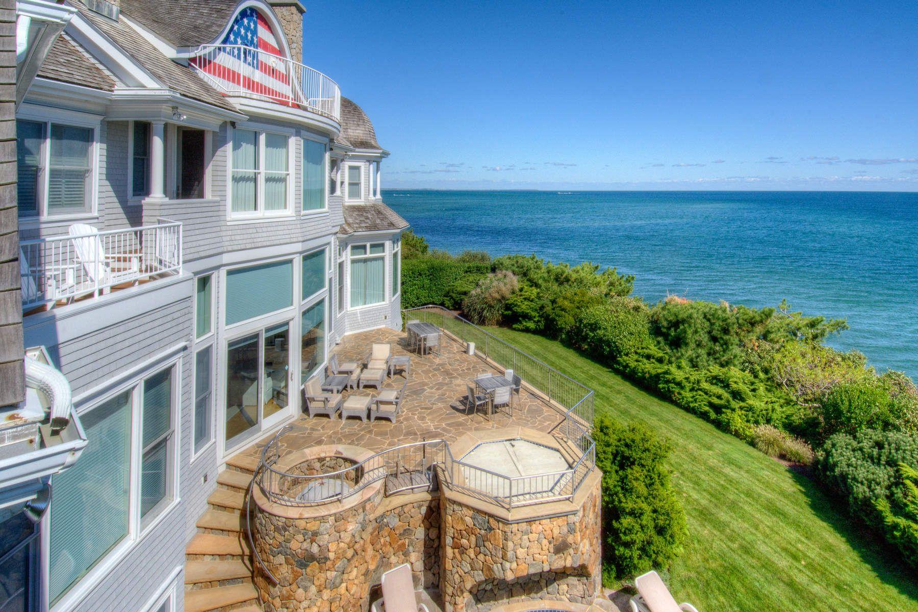 Maison unifamiliale pour l Vente à Majestic Views of Nantucket Sound 46 Triton Way Mashpee, Massachusetts 02649 États-Unis