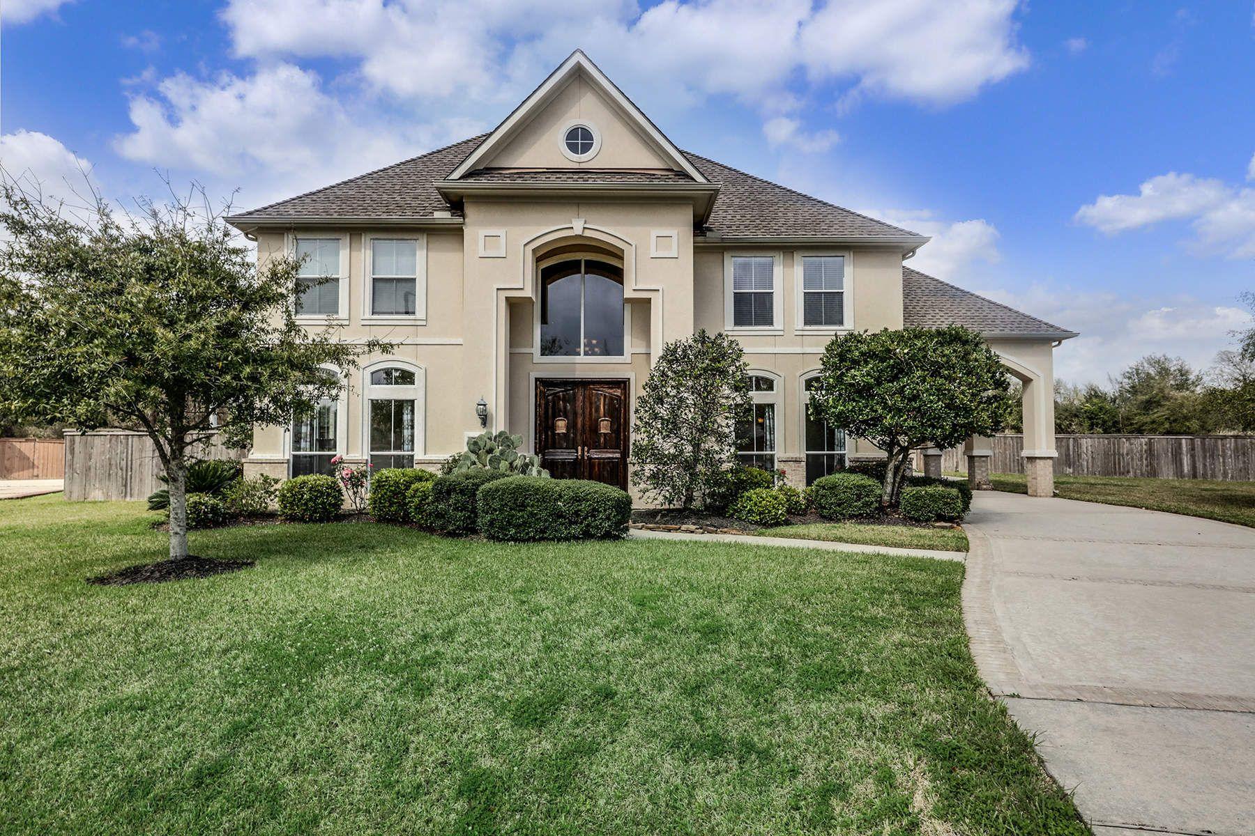 Частный односемейный дом для того Продажа на 2214 Lakeway Drive Friendswood, Техас, 77546 Соединенные Штаты
