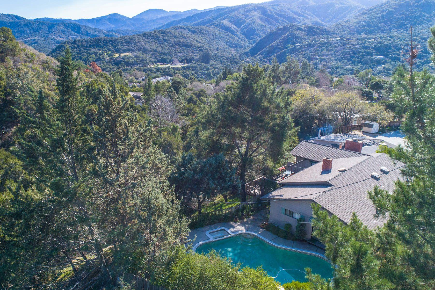 Maison unifamiliale pour l à vendre à Carmel Valley Charmer With Views 55 Holman Road, Carmel Valley, Californie, 93924 États-Unis