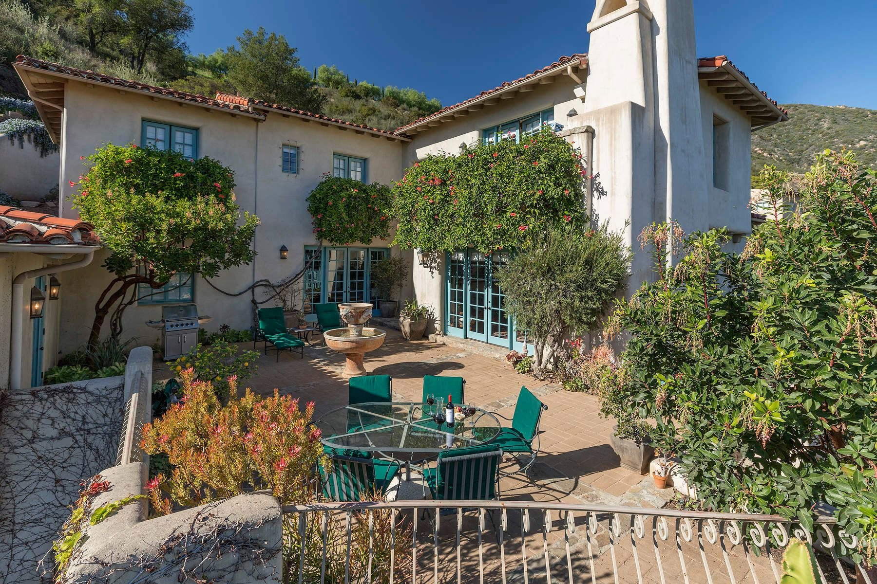 Single Family Home for Sale at Santa Barbara View Home 1439 Tunnel Road, Santa Barbara, California, 93105 United States
