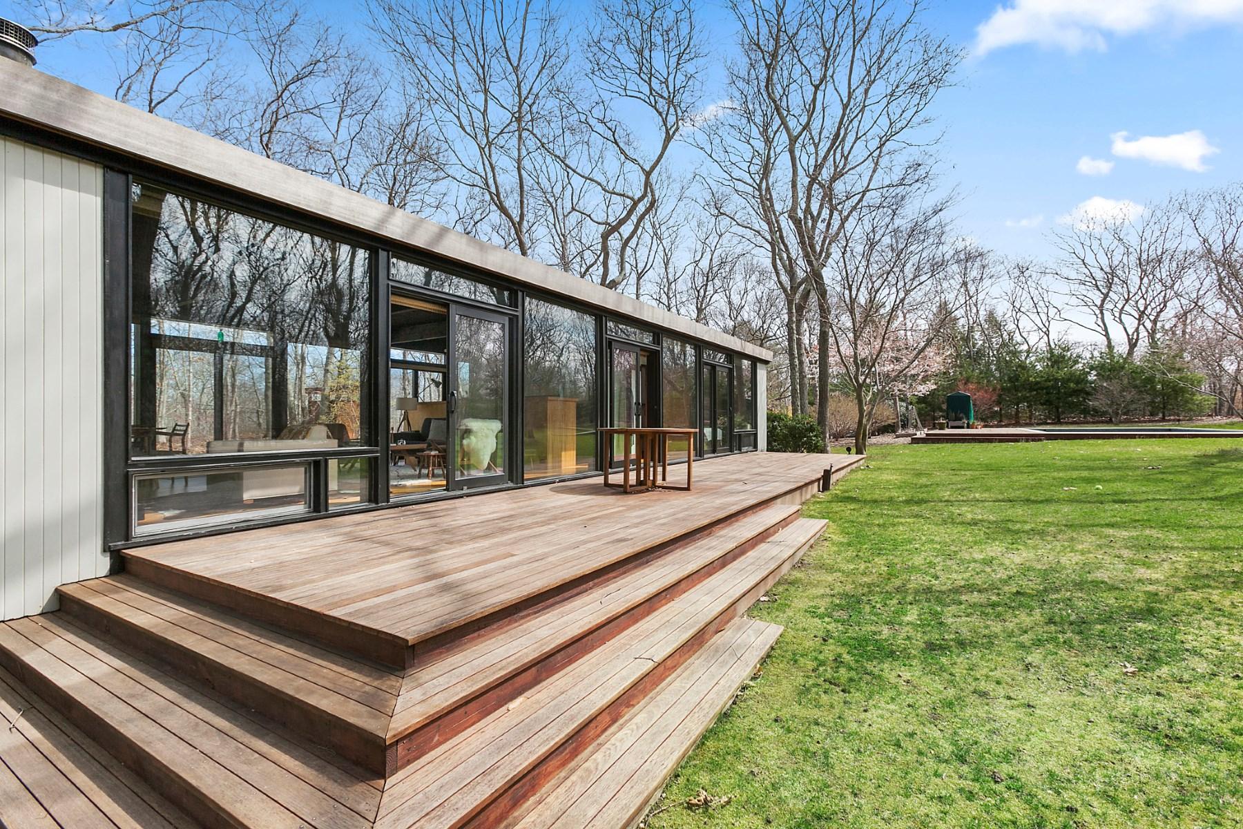 Maison unifamiliale pour l Vente à Amagansett Modern 233 Red Dirt Road Amagansett, New York, 11930 États-Unis