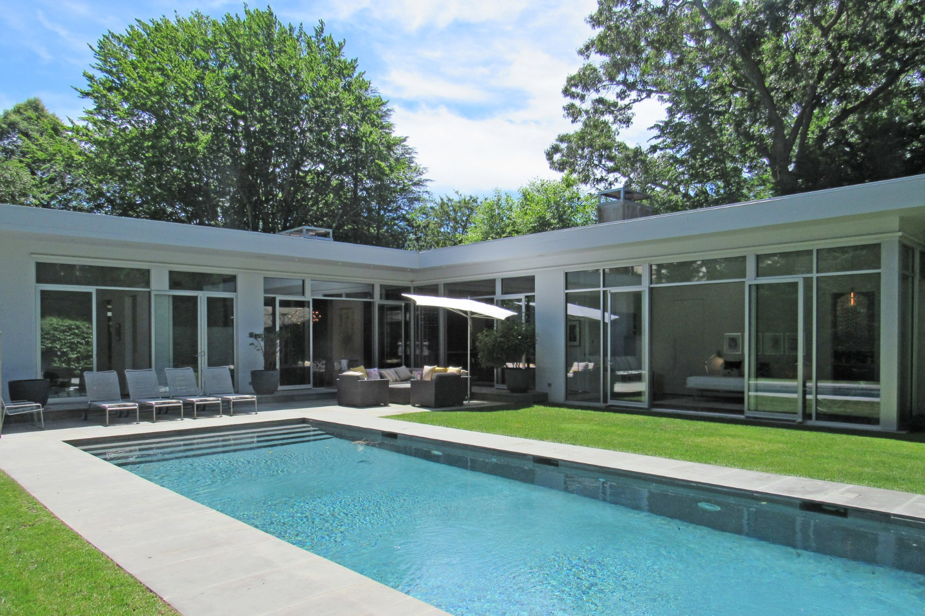 Single Family Home for Sale at Exquisitely Designed Modern 31 Palma Terrace, East Hampton Village, East Hampton, New York, 11937 United States