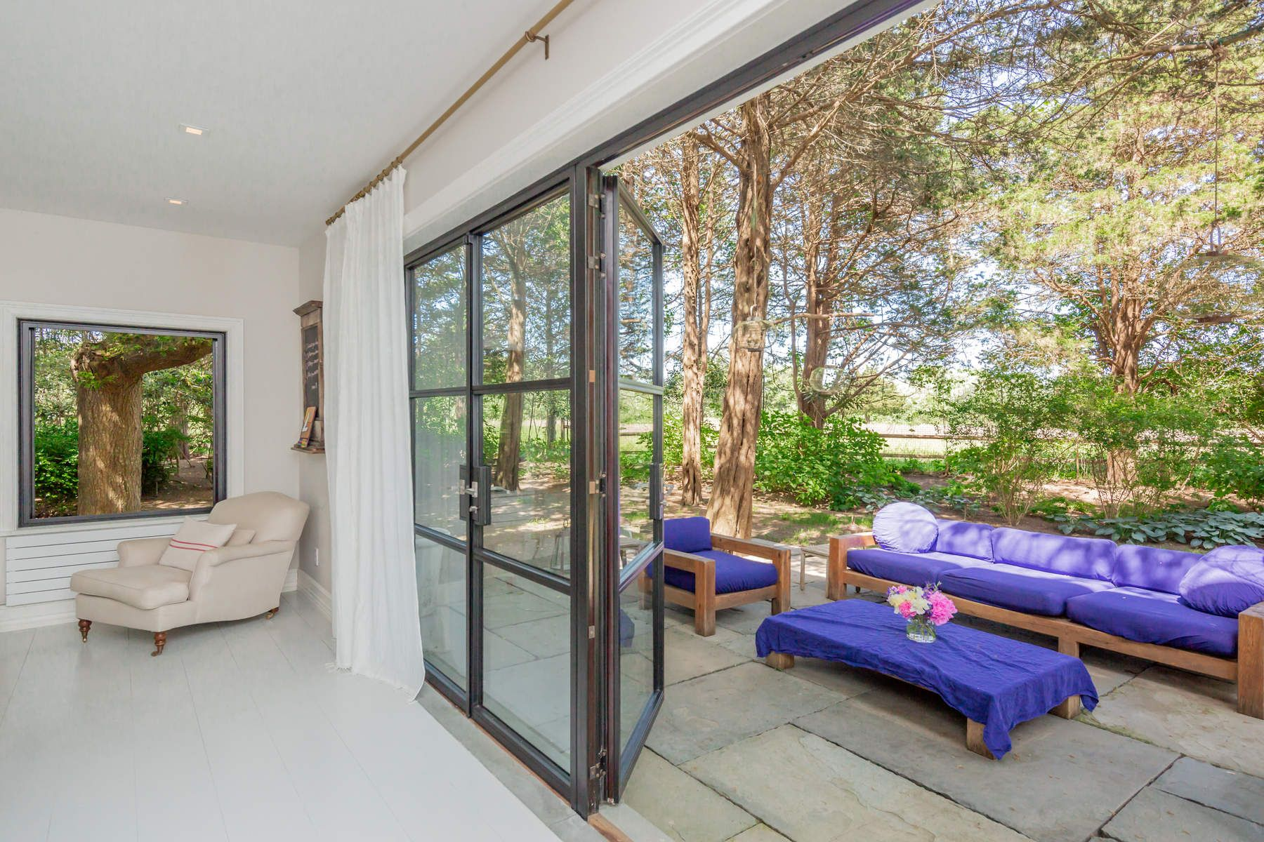 Single Family Home for Sale at Sophisticated And Private Stunner 154 Windmill Lane Amagansett, New York 11930 United States