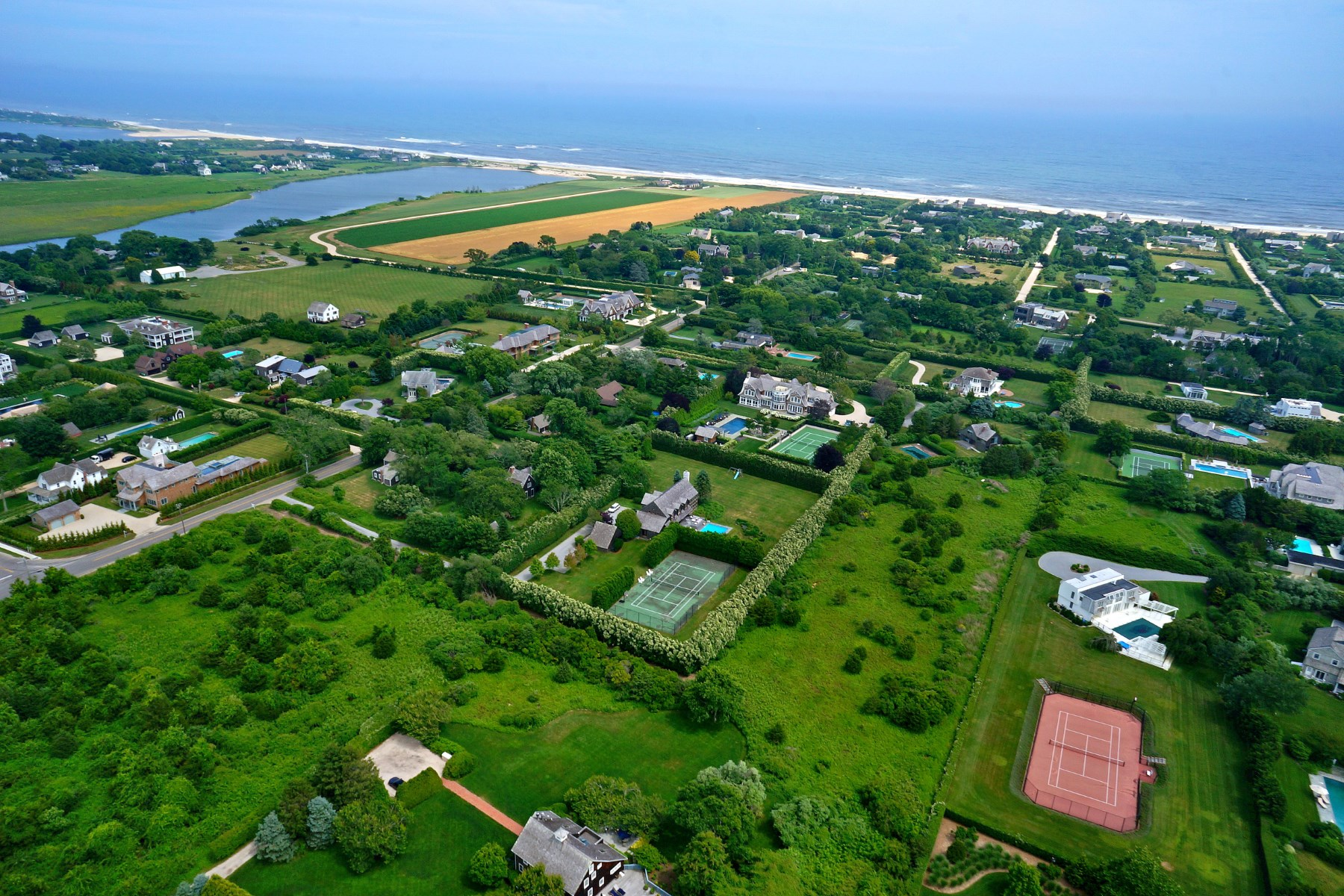 Land for Sale at Sagaponack South Privacy 342 Town Line Road Sagaponack, New York 11962
