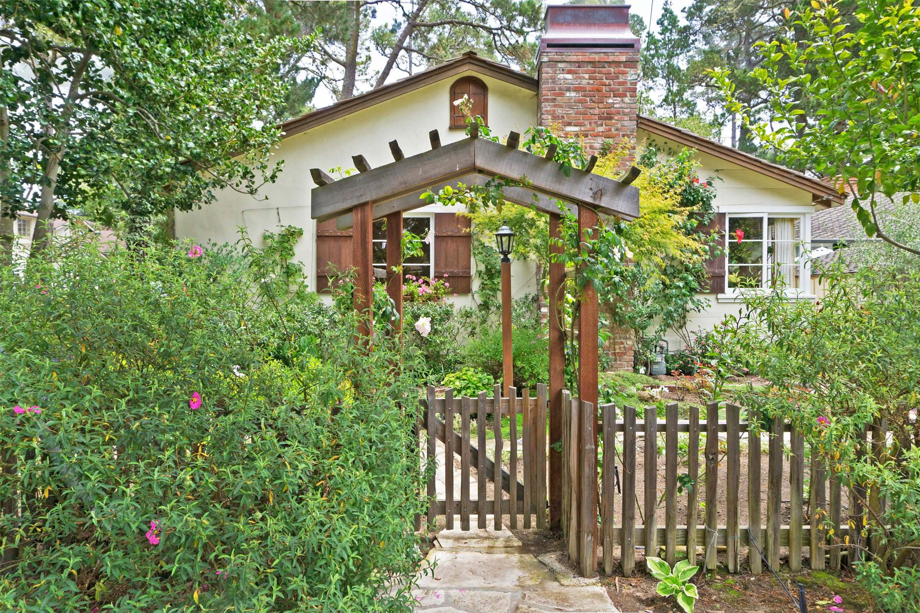 Single Family Homes for Sale at Vintage House and Detached Guest Cottage 0 3rd Avenue, Se Corner Of Lobos Street Carmel By The Sea, California 93921 United States