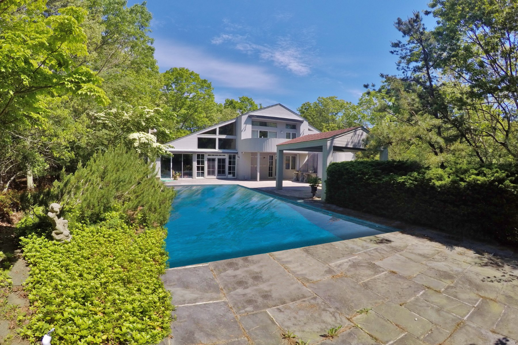 Vivienda unifamiliar por un Venta en Private Sculptural Contemporary 405 Hands Creek Road, East Hampton, Nueva York, 11937 Estados Unidos