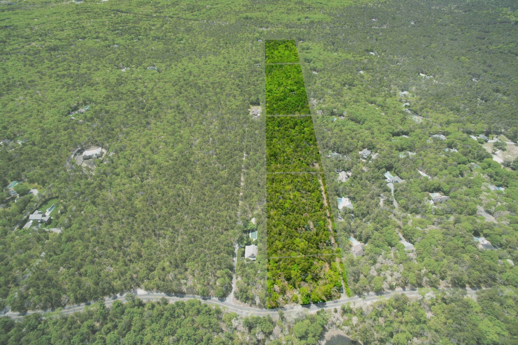 Land for Sale at THREE 3 ACRE LOTS WITH ROOM FOR TENNIS 60 Two Holes Of Water Road, East Hampton, New York, 11937 United States
