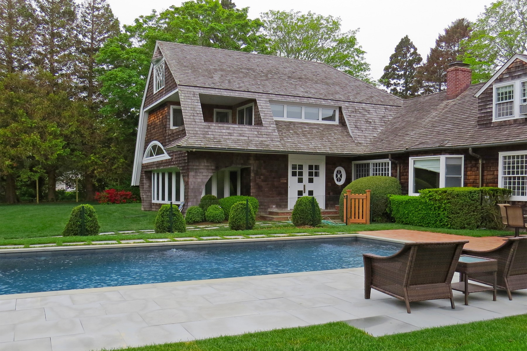 Casa Unifamiliar por un Alquiler en Coveted Lily Pond East Hampton Village, East Hampton, Nueva York, 11937 Estados Unidos