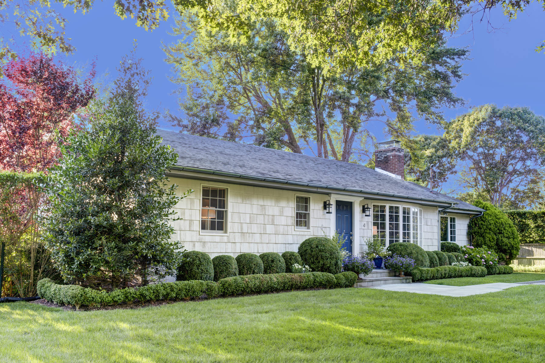 Single Family Home for Rent at Chic Mid Century Ranch 4 Harvard Road Sag Harbor, New York 11963 United States