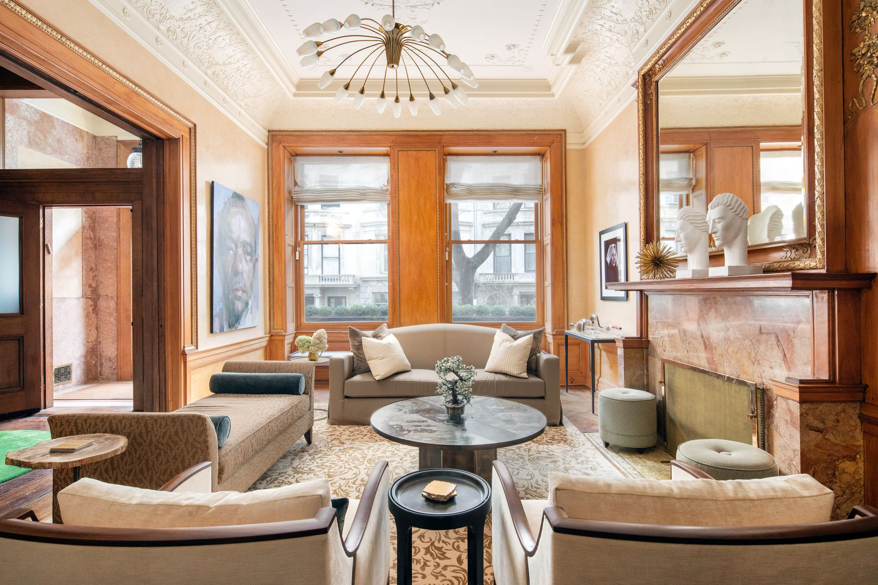Townhouse for Sale at Grand Renovated Brownstone: 15 West 76th 15 West 76th Street New York, New York 10023 United States