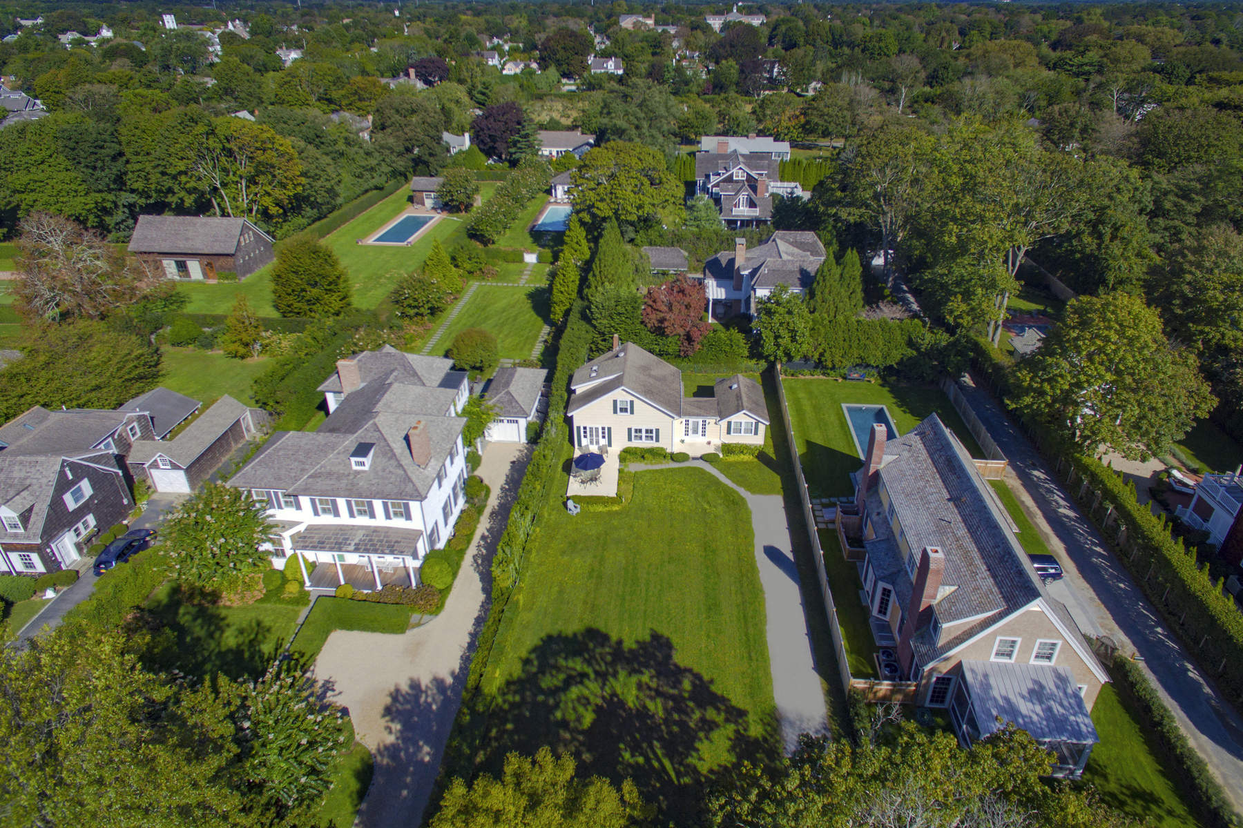 Single Family Home for Sale at Trophy Location on Toylsome - SH Village 109 Toylsome Lane, Southampton, New York, 11968 United States