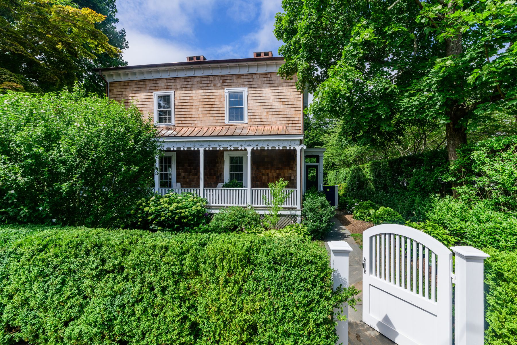 Single Family Home for Active at Historic Manse from Old Whaler's Church 12 Suffolk Street Sag Harbor, New York 11963 United States