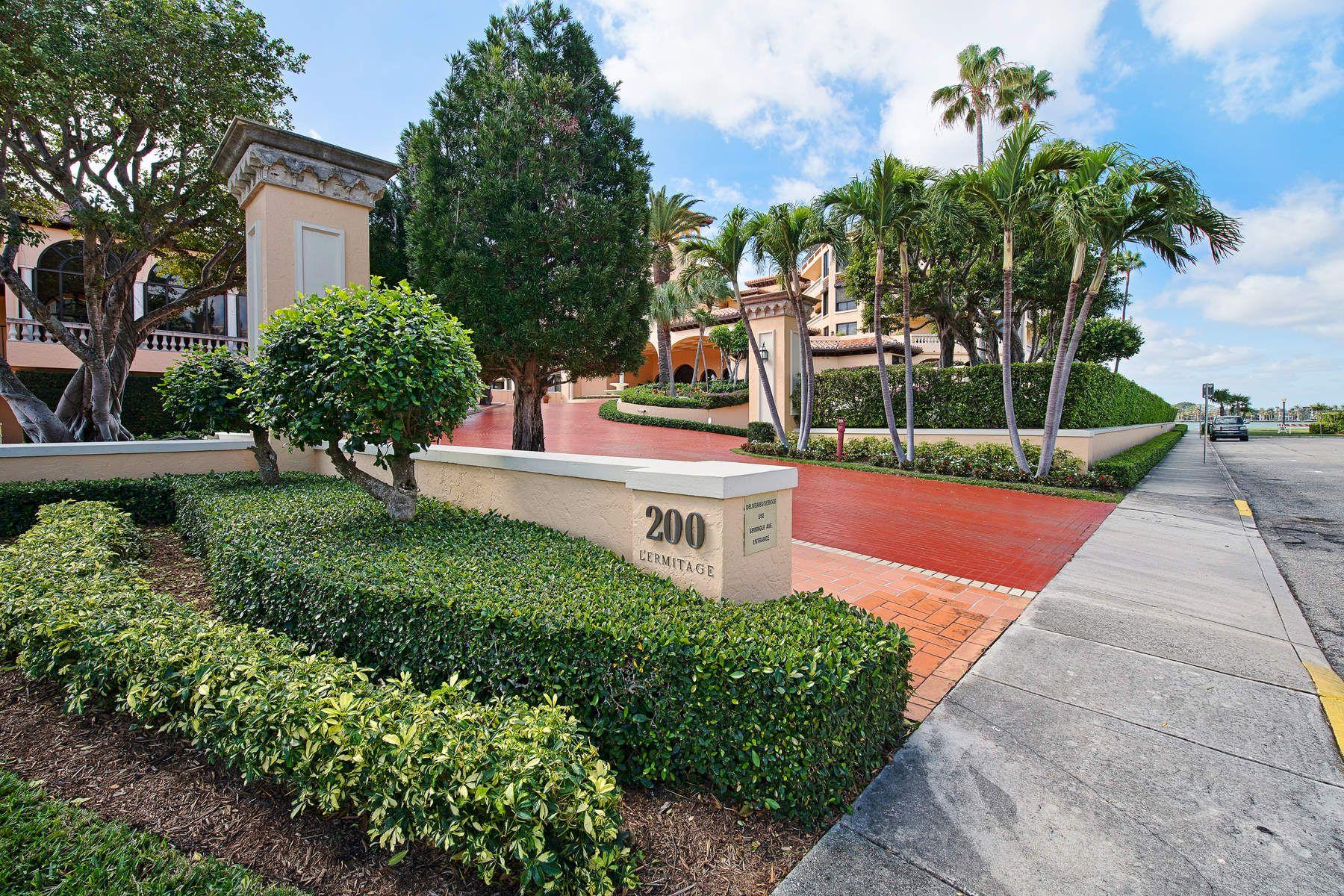 共管物業 為 出售 在 L'Ermitage - Palm Beach 200 Bradley Place 201, Palm Beach, 佛羅里達州, 33480 美國