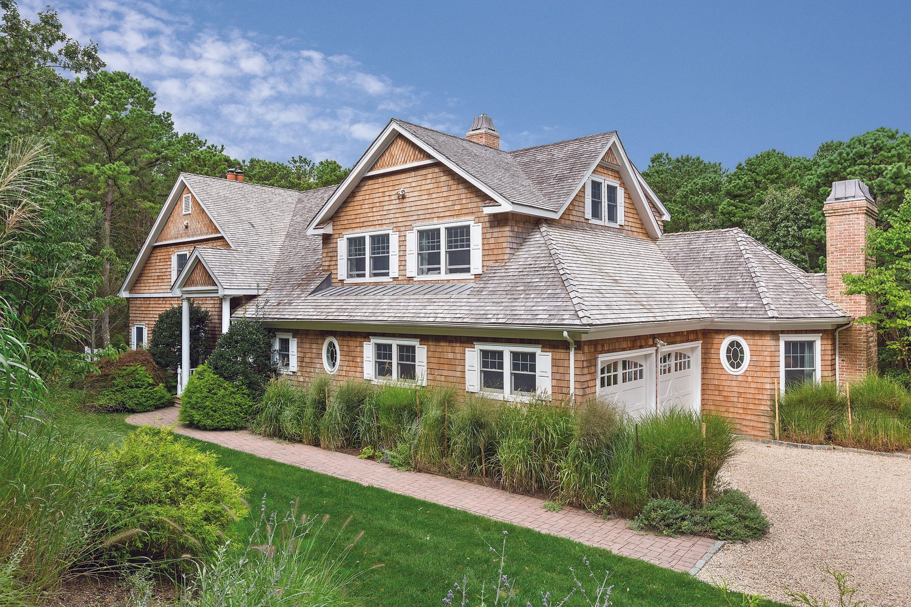 Single Family Home for Sale at 6 ACRE ESTATE WITH TENNIS, 2 MASTER SUITES 1058 Noyac Path Water Mill, New York 11976 United States